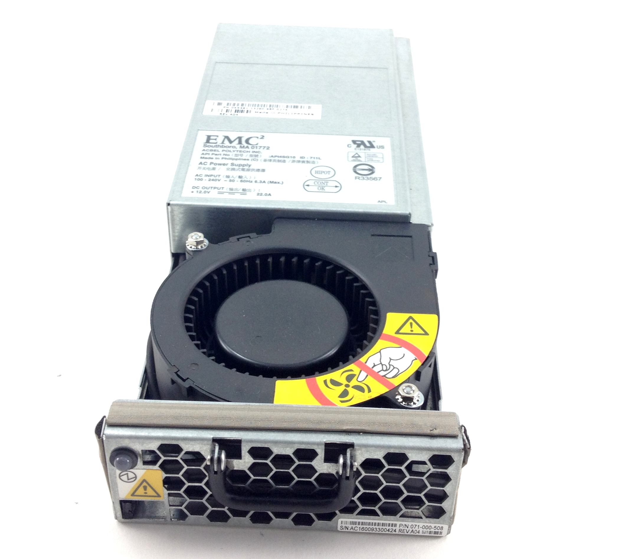 Dell EMCÃ?£Ã?¢Ã?â??Ã?² Storagework Ac Power Supply / Blower Module (XX491)