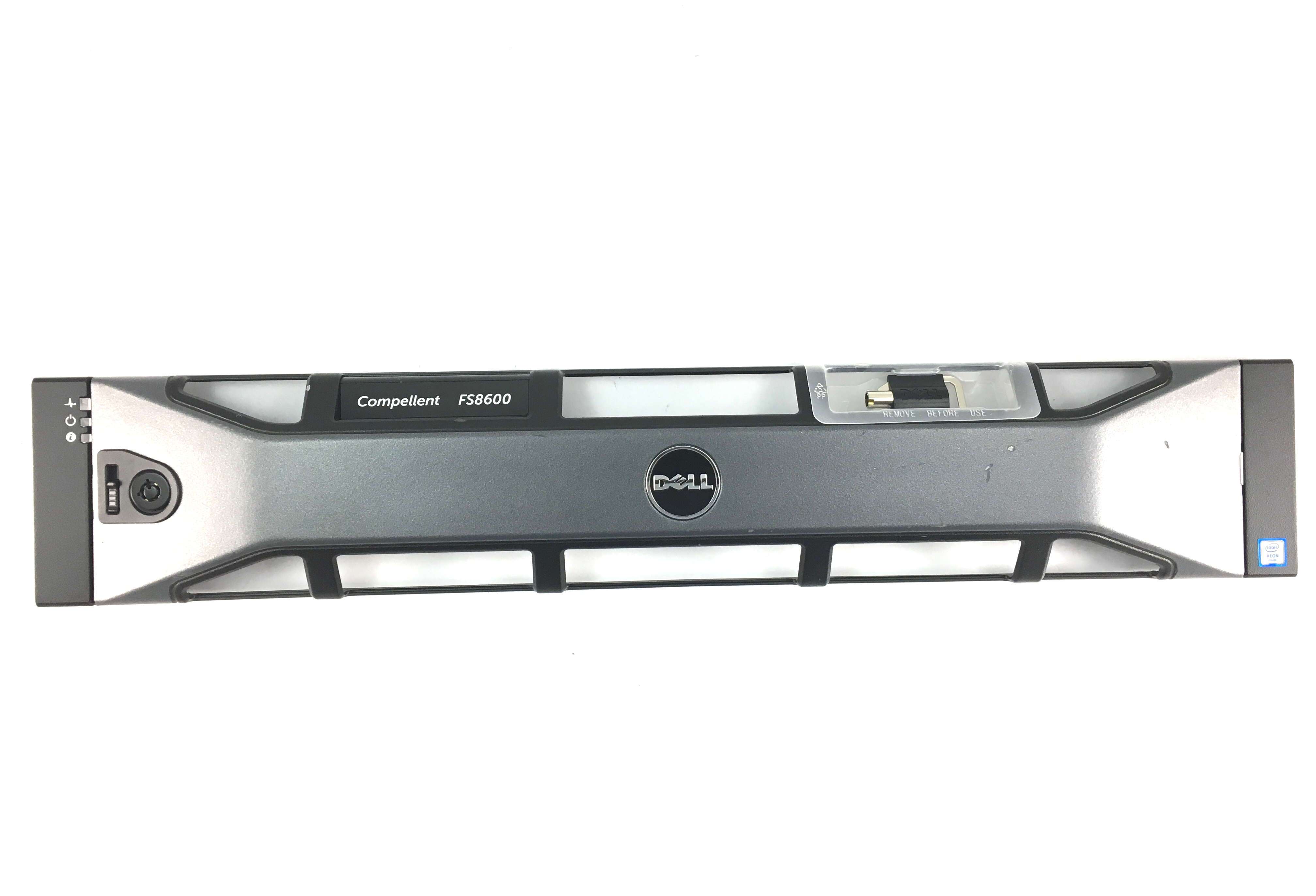New Dell Compellent Fs8600 Front Bezel Faceplate (XN8H4)