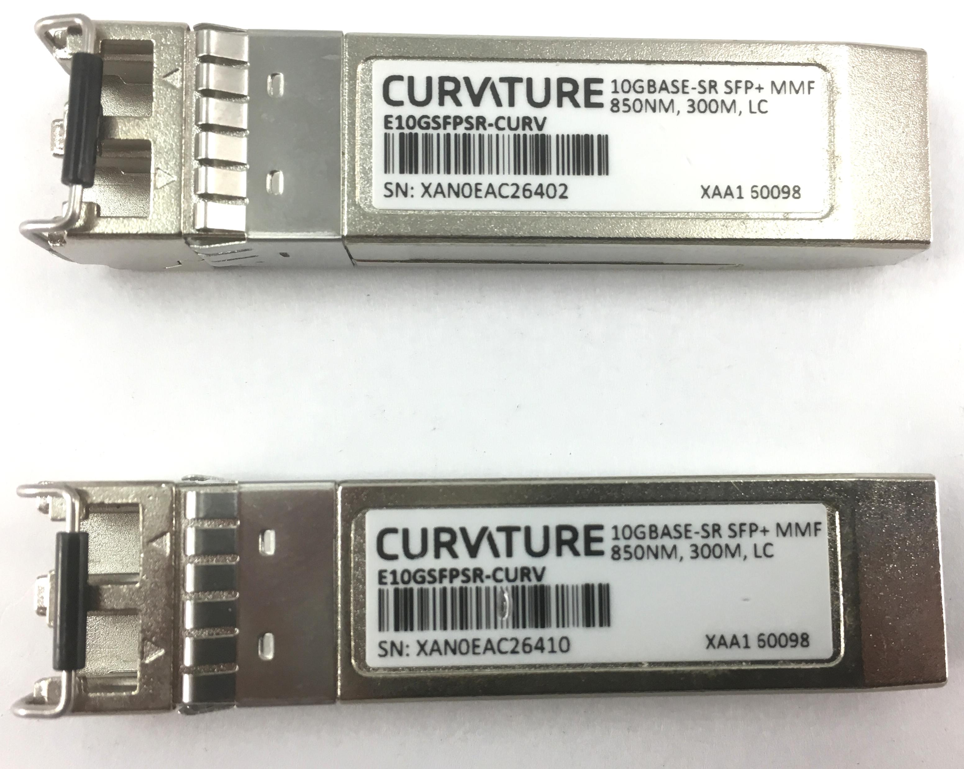 Curvature 10G SFP+ Ethernet Module Sr  Transceiver (E10GSFPSR-CURV)