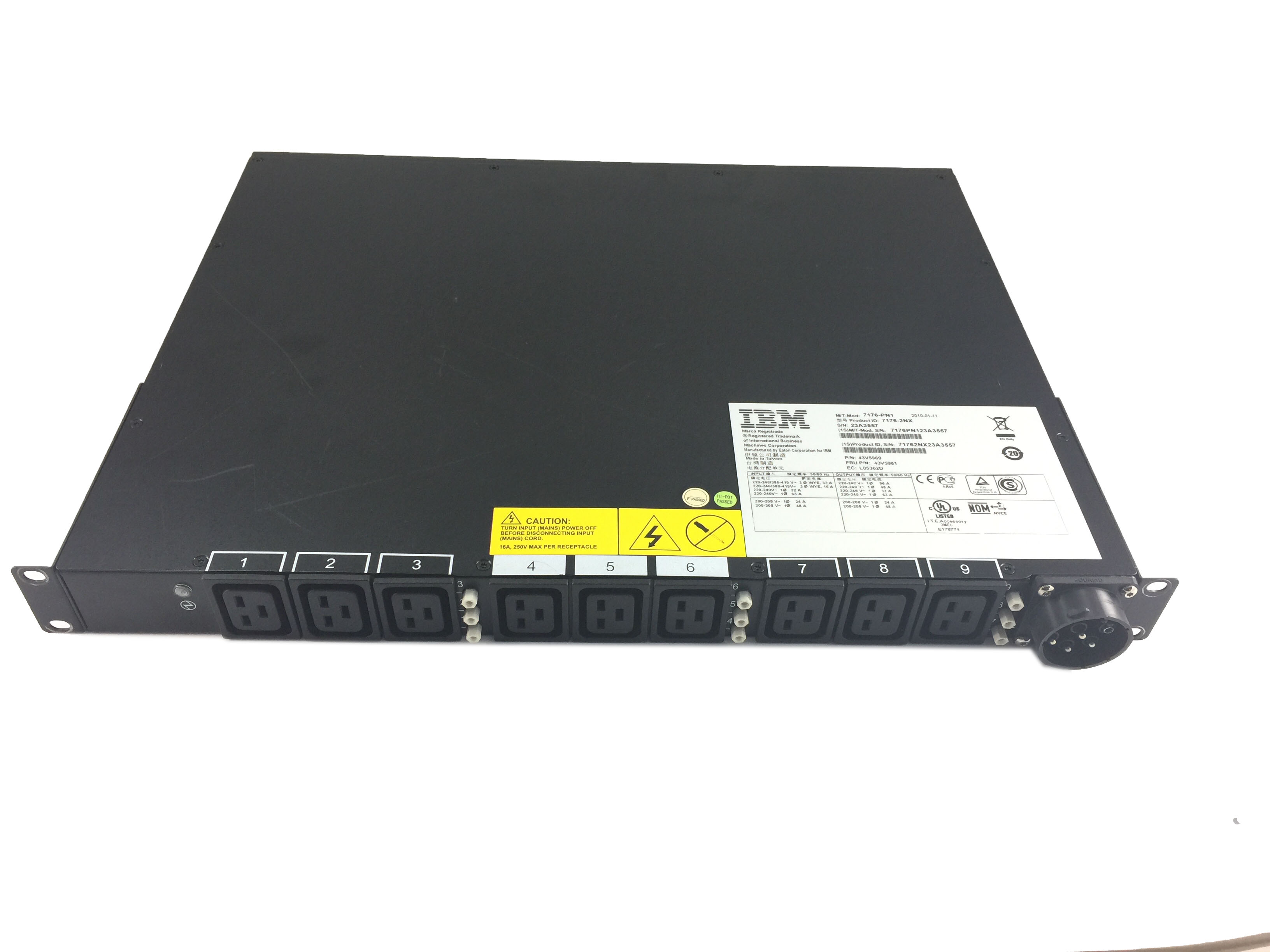 IBM Ultra Density Enterprise Power Distribution Unit 220-240V (43V5981)
