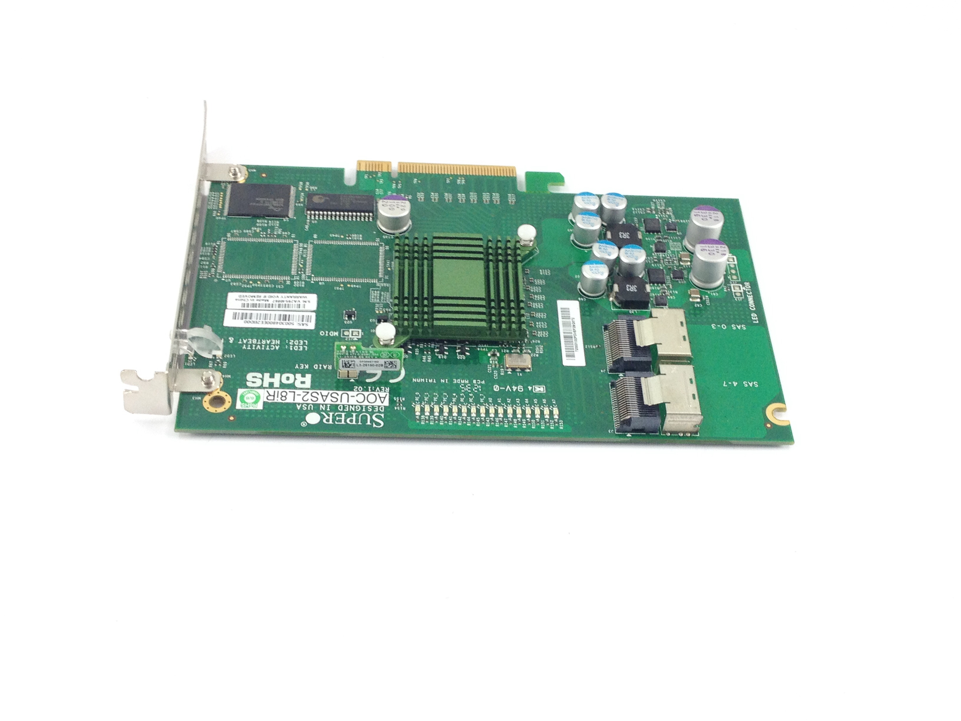 Supermicro 6Gb/s Eight-Port SAS Internal Raid Adapter (AOC-USAS2-L8IR)