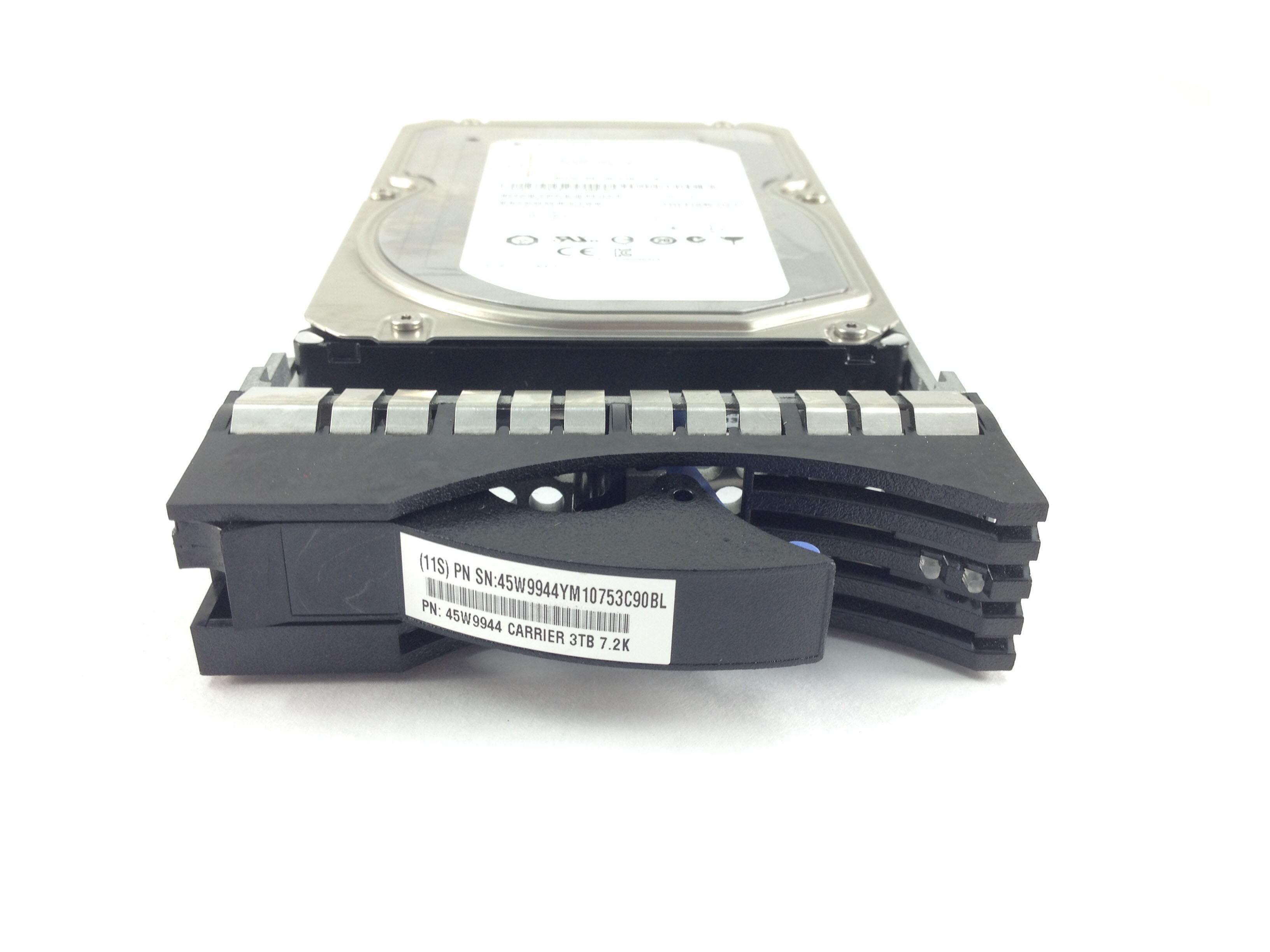 IBM Seagate 3TB 7.2K 6Gbps SAS 3.5'' Hard Drive w/ Tray (45W9944)