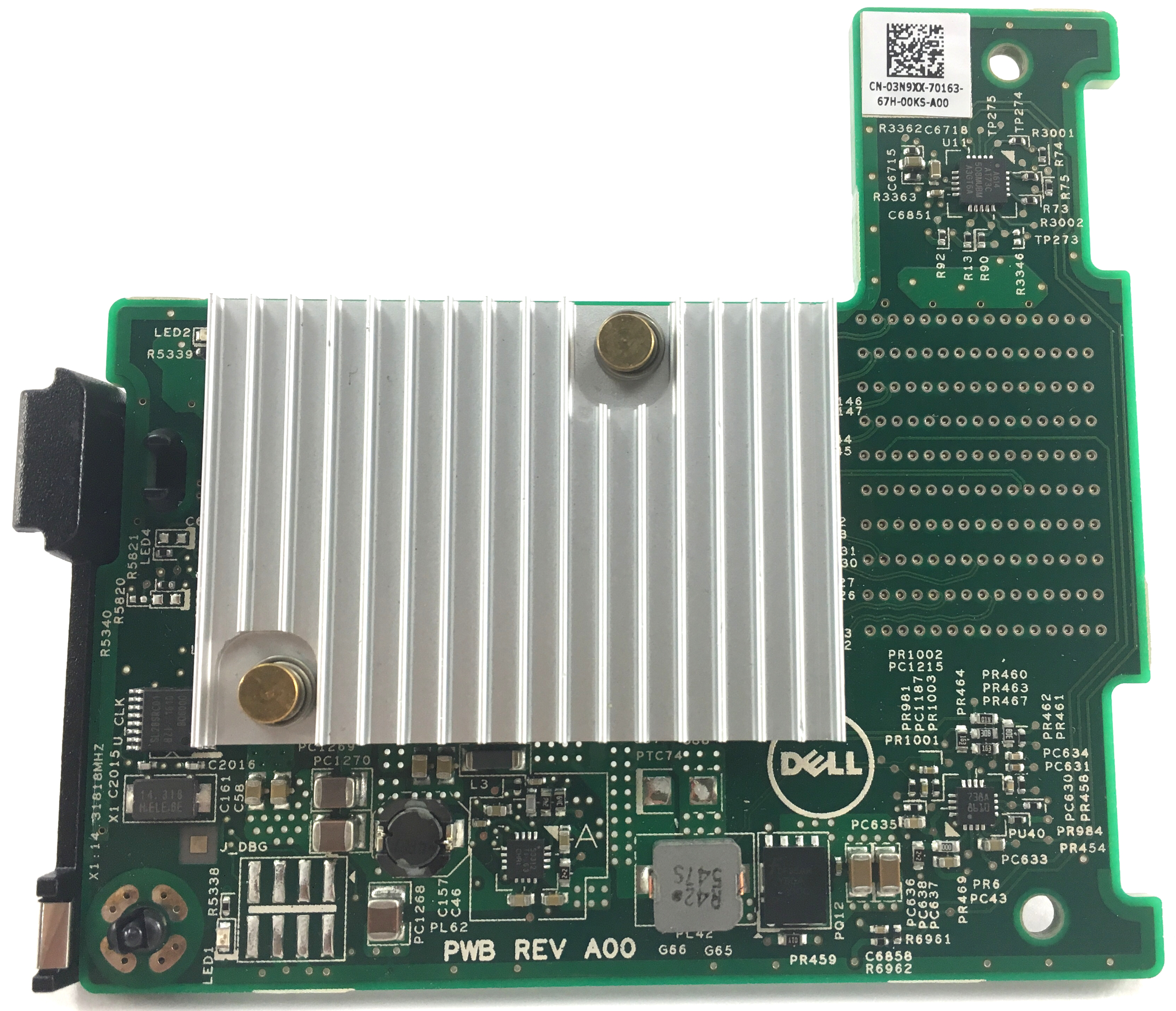 Dell PE Broadcom 57840 KR 10GB Mezzanine Card For Dell M520 M620 M630 (3N9XX)
