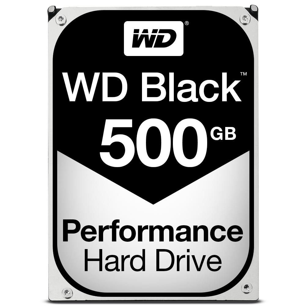 Wd Black 500GB Performance Desktop Hard Disk Drive  7200 RPM SATA (WD5003AZEX)