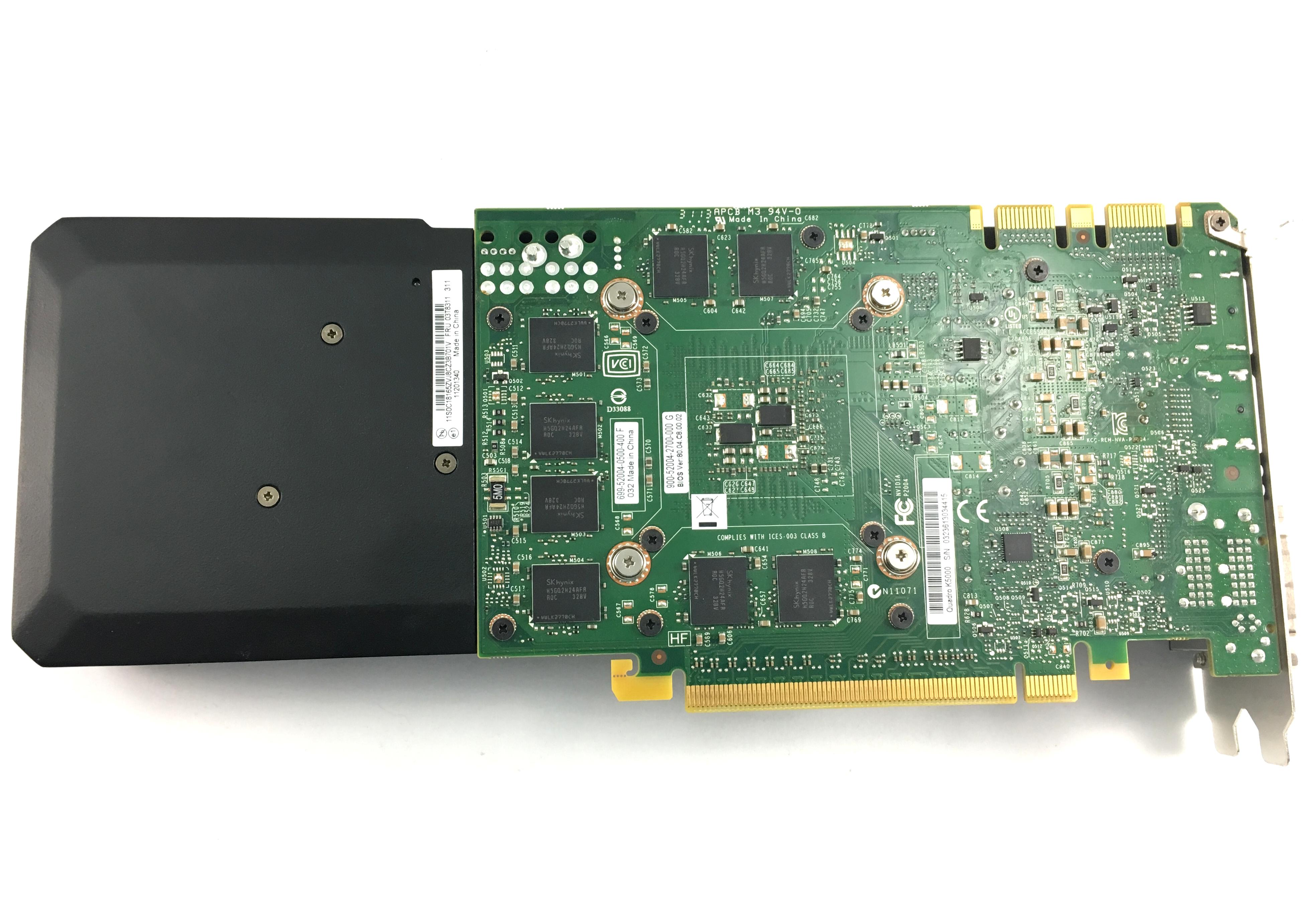 Lenovo Nvidia Quadro K5000 4GB GDDR5 1536 Cuda Core Graphics Card (03T8311)