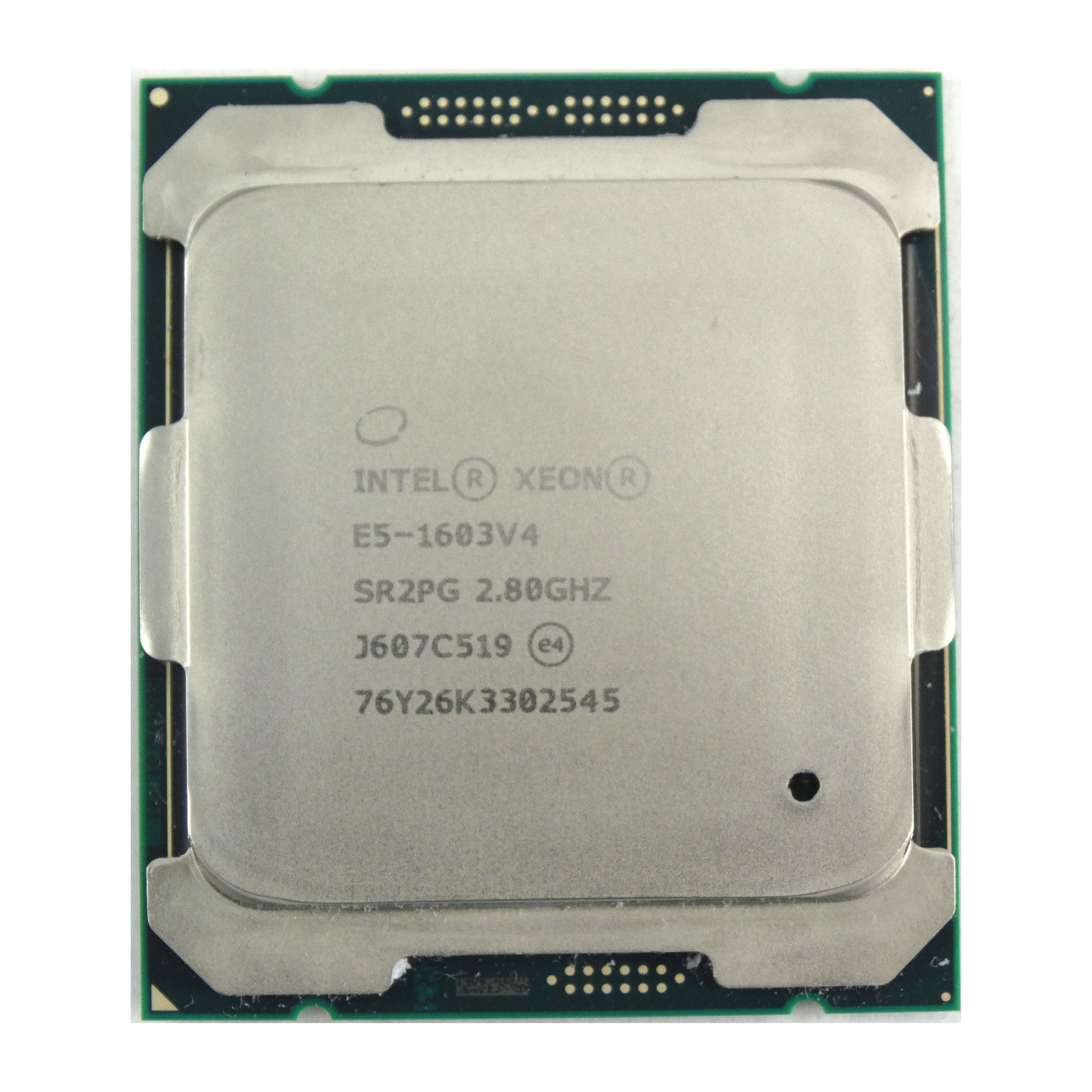 Intel Xeon E5-1603V4 2.80GHz 4Core 10MB LGA2011 Processor (SR2PG)