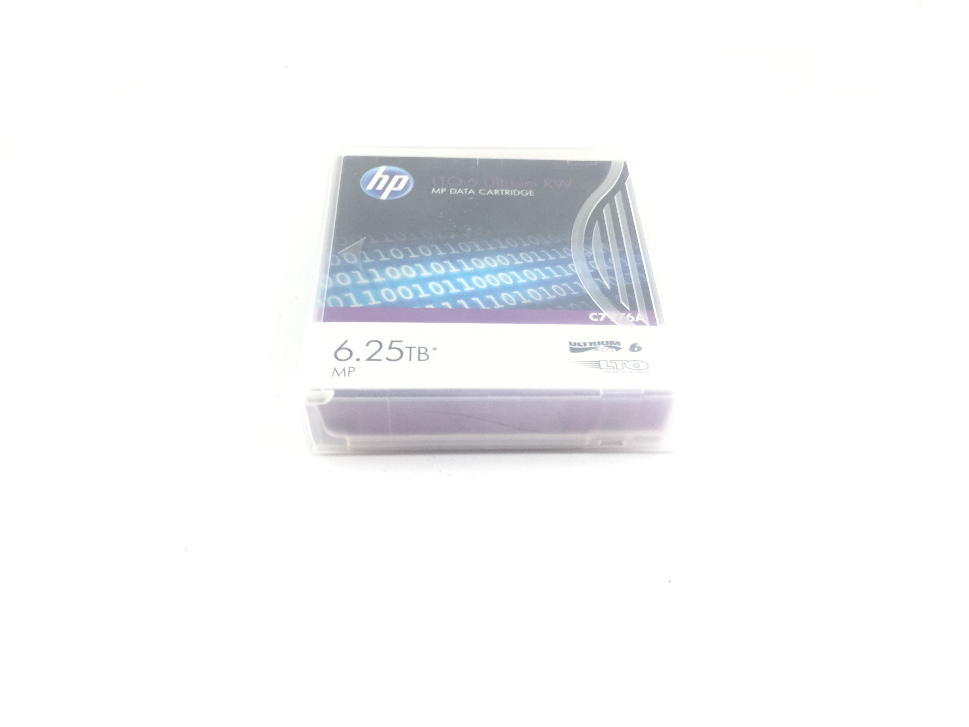 HP Lto 6 Ultrium 6.25TB Mp Data Cartridge (C7976A)