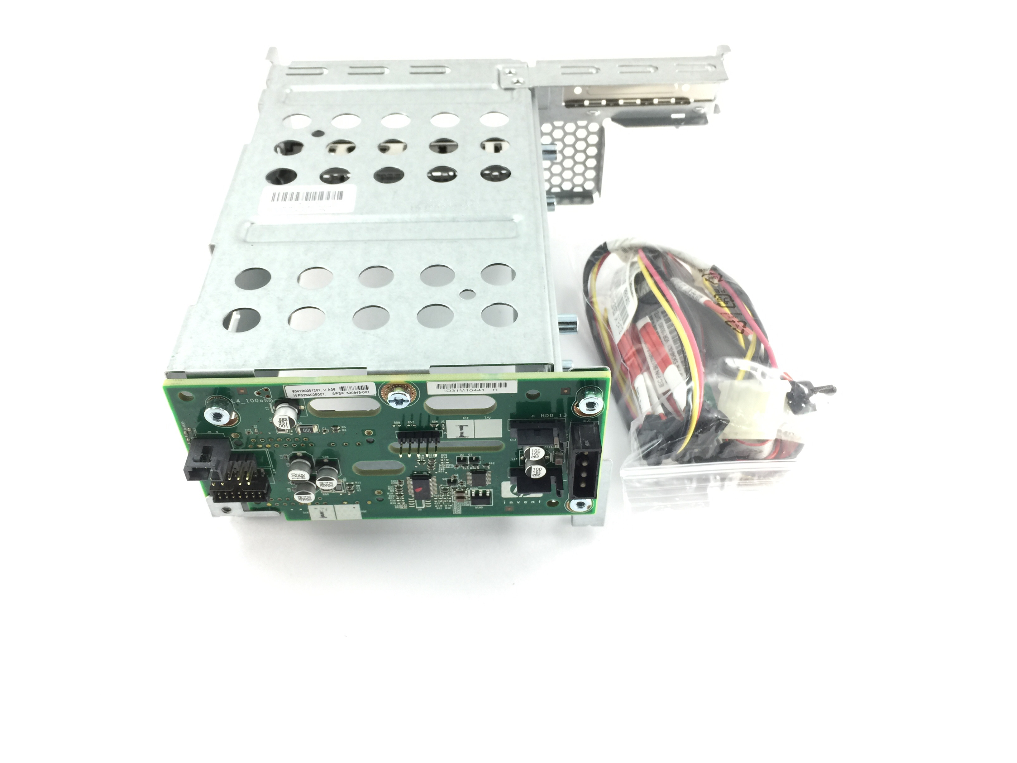 HP DL180 G6 SAS Backplane w/ Cage & Cable (530945-001)