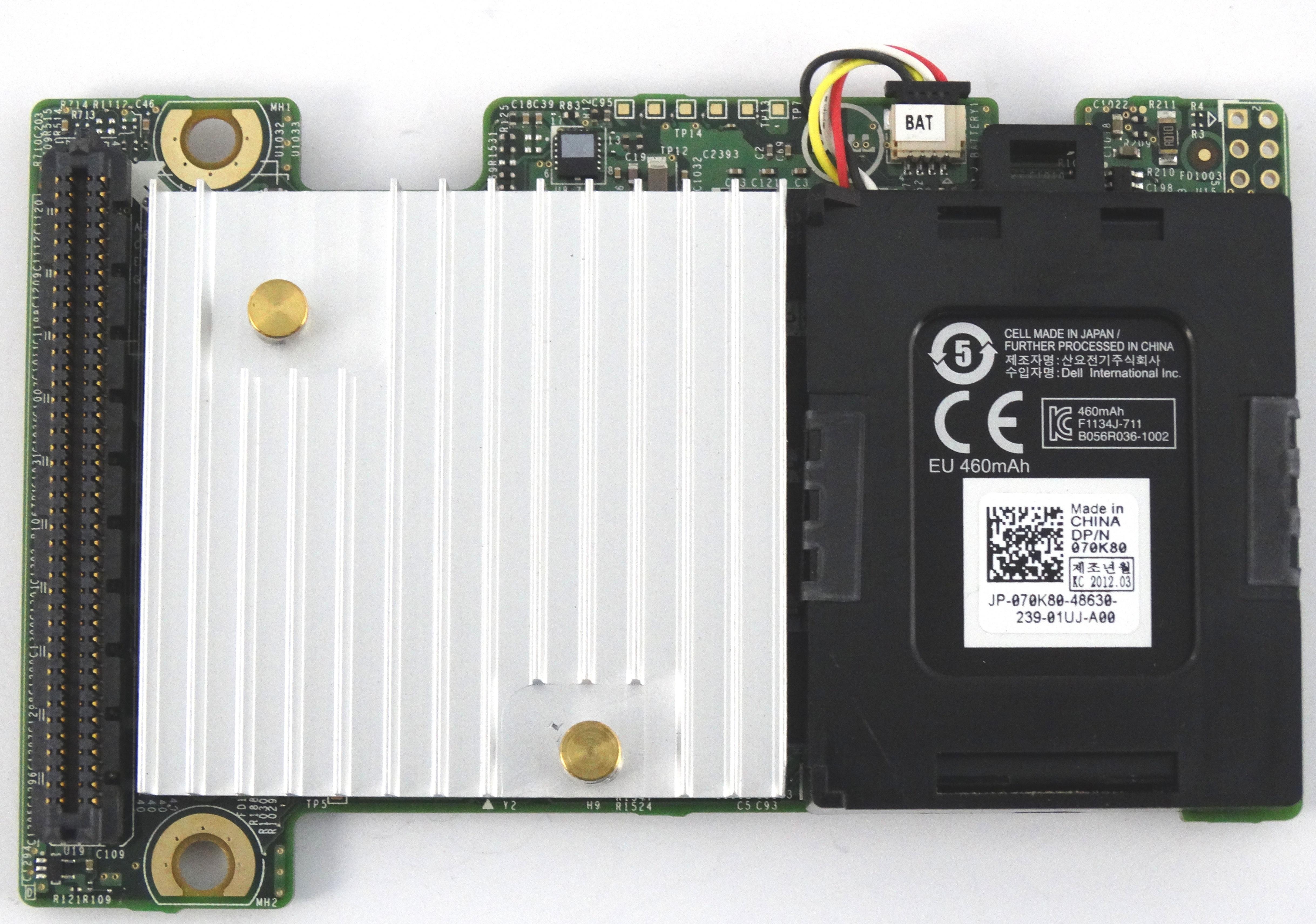 Dell PERC H710P 6Gbps Mini 1GB Blade Raid Controller (81J2H)