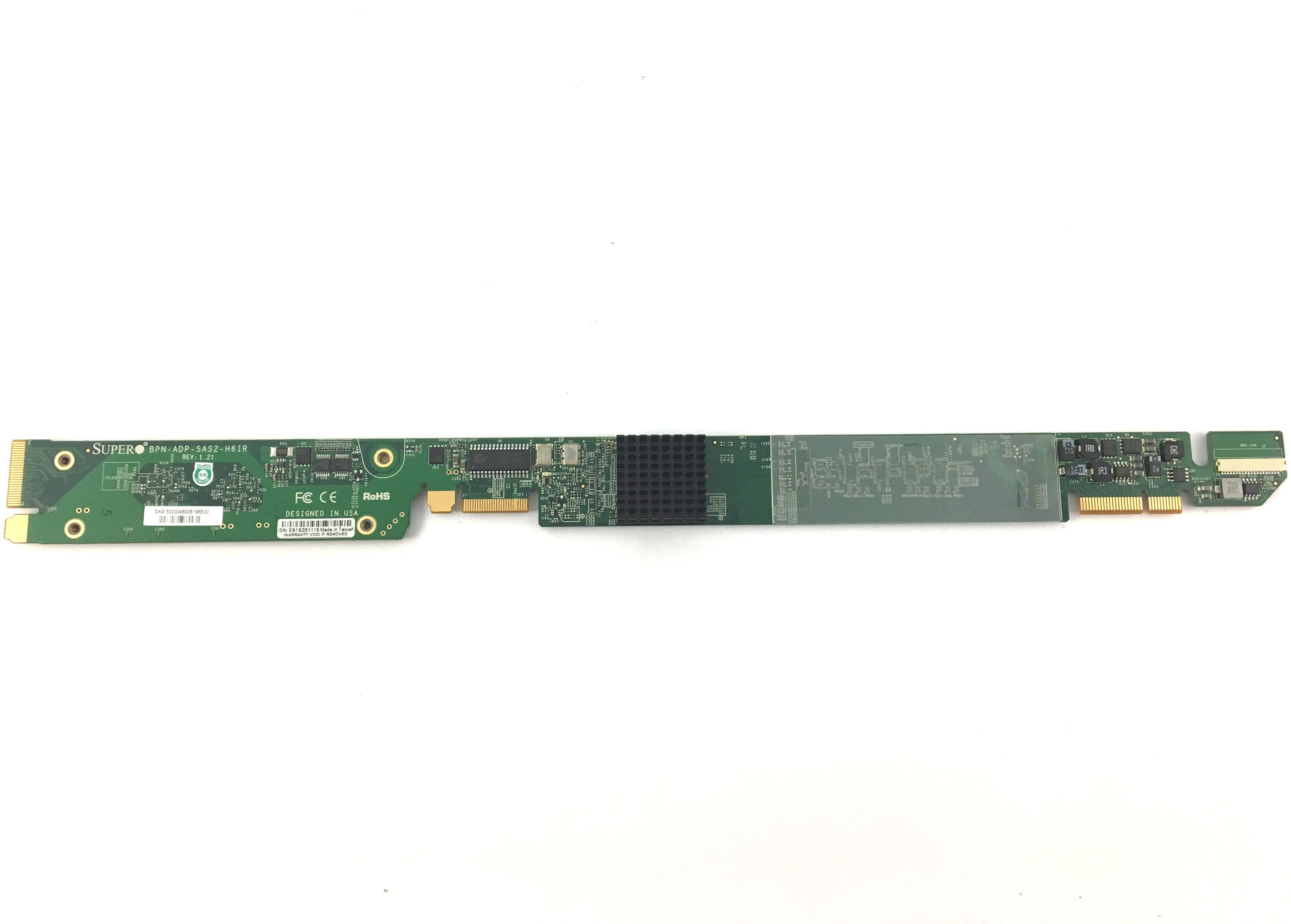Supermicro Broadcom 2108 SAS2 Raid Support Backplane (BPN-ADP-SAS2-H6IR)