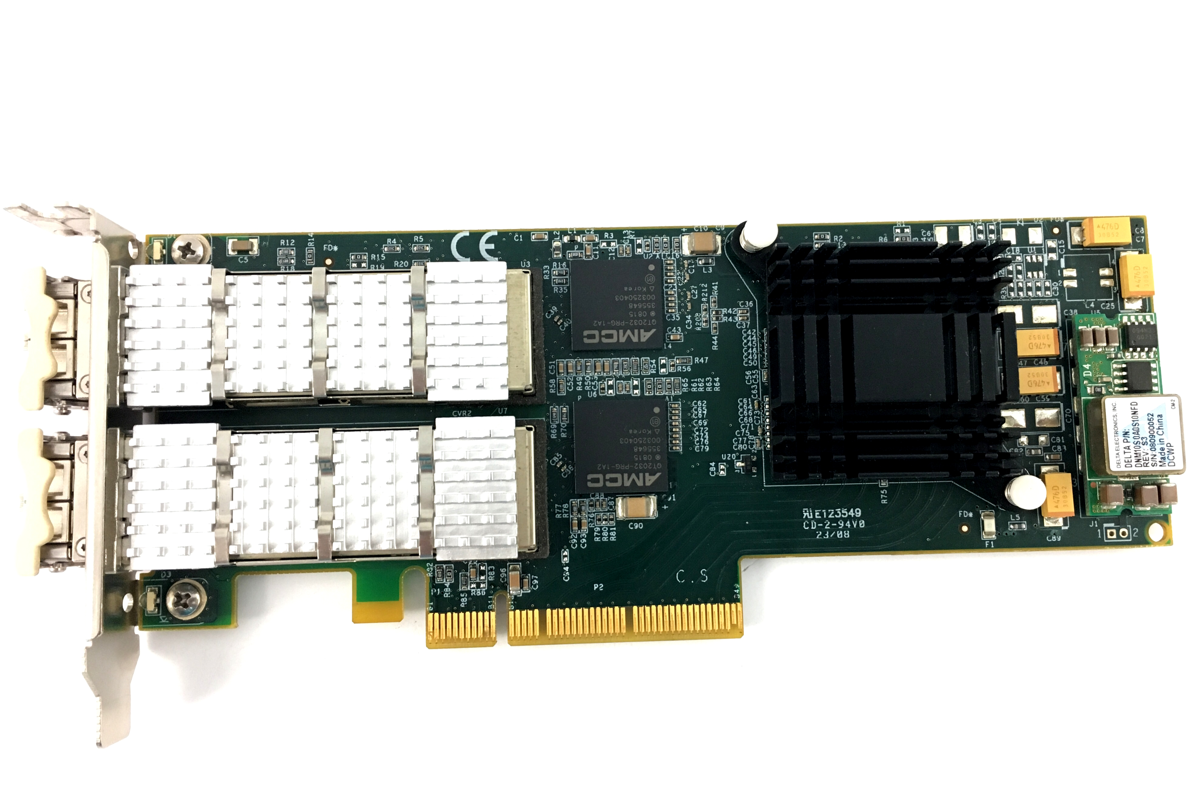 Sillicom Dual Port 10Gbe PCI-E Server Adapter (PE10G2I-SR)