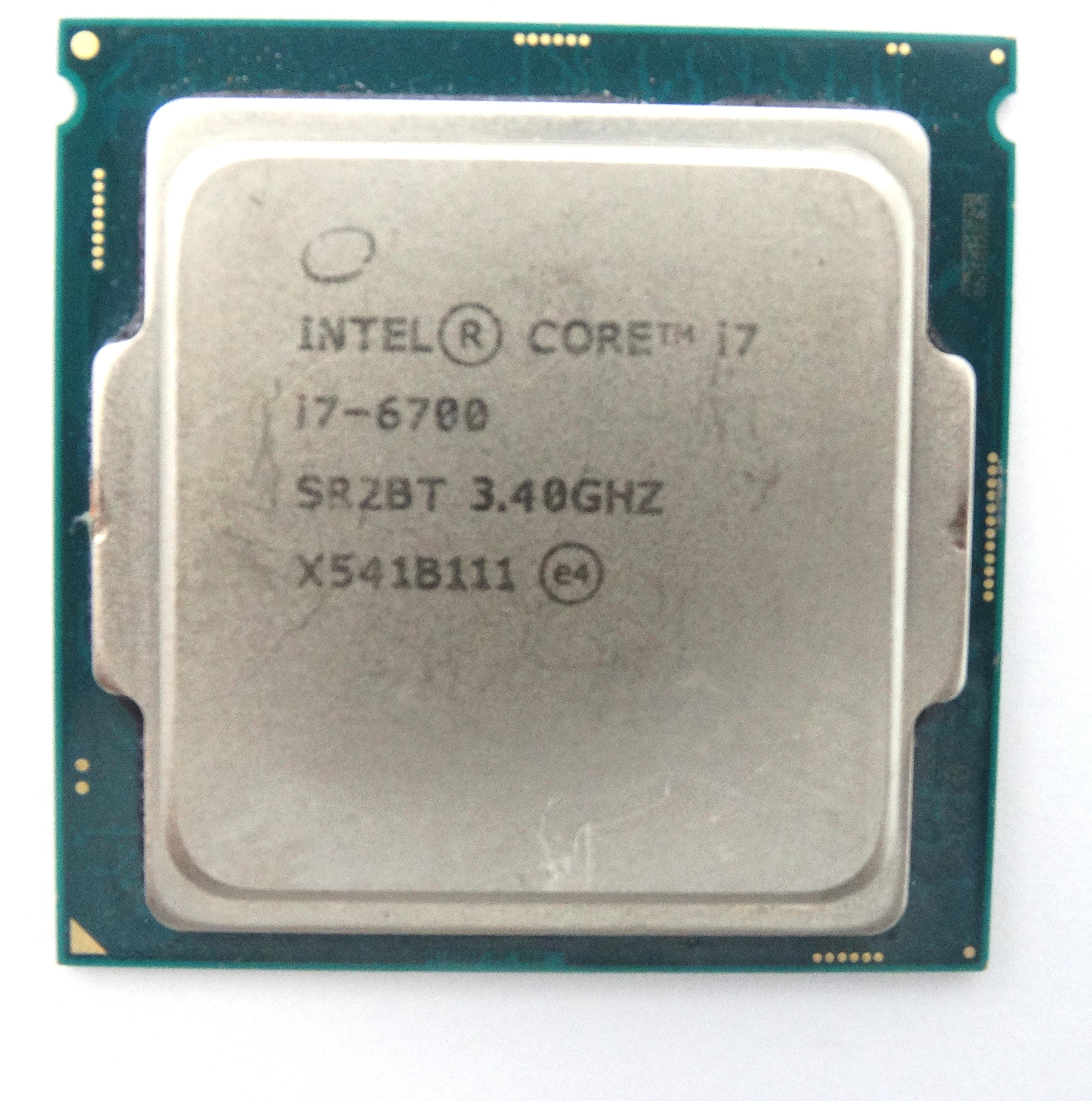Intel Core I7-6700 3.4GHz 4Core 8Mb LGA1151 Processor (SR2BT)