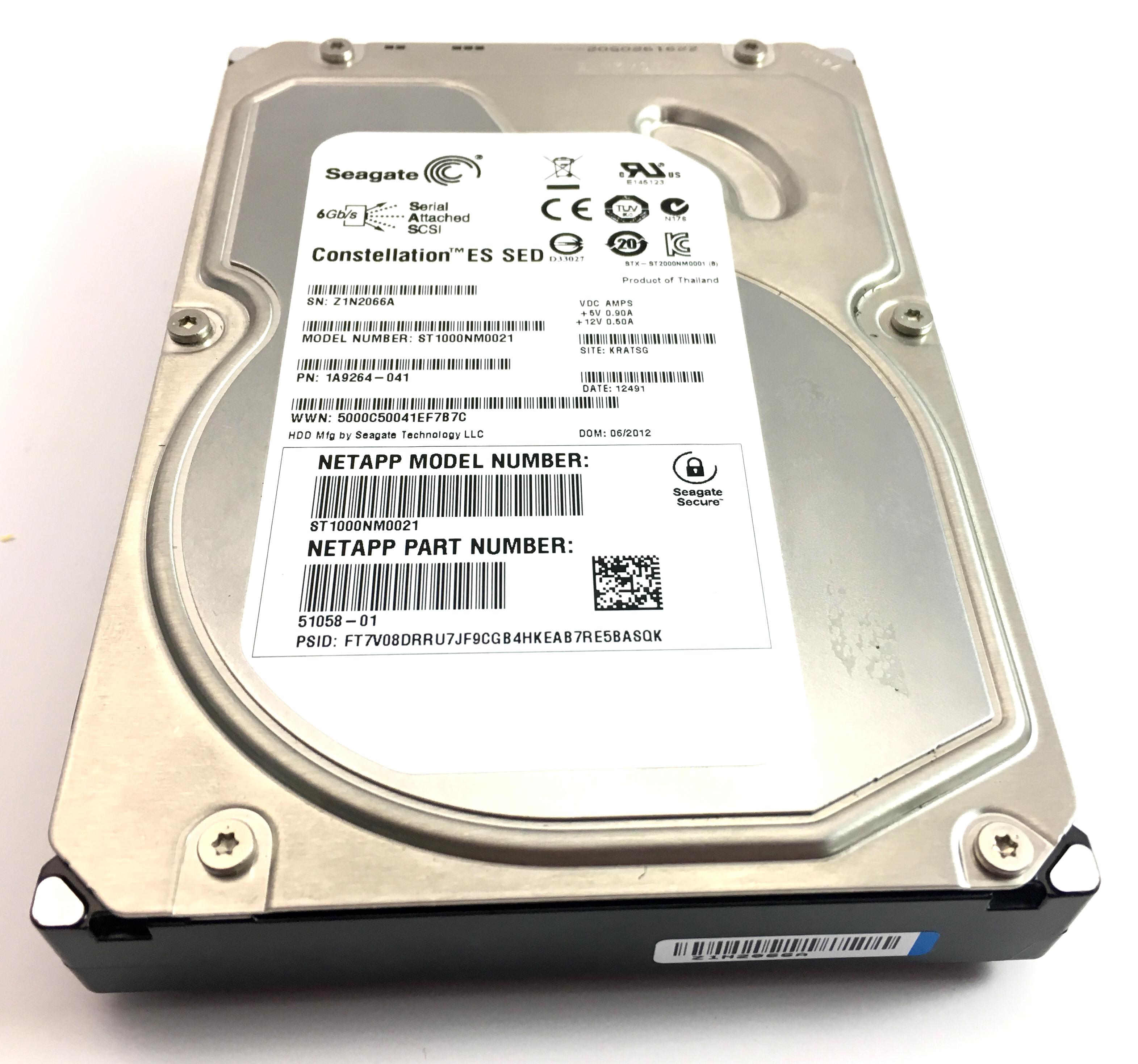 SEAGATE 1TB 7.2K 6GBPS SAS 3.5'' HARD DRIVE (ST1000NM0021)