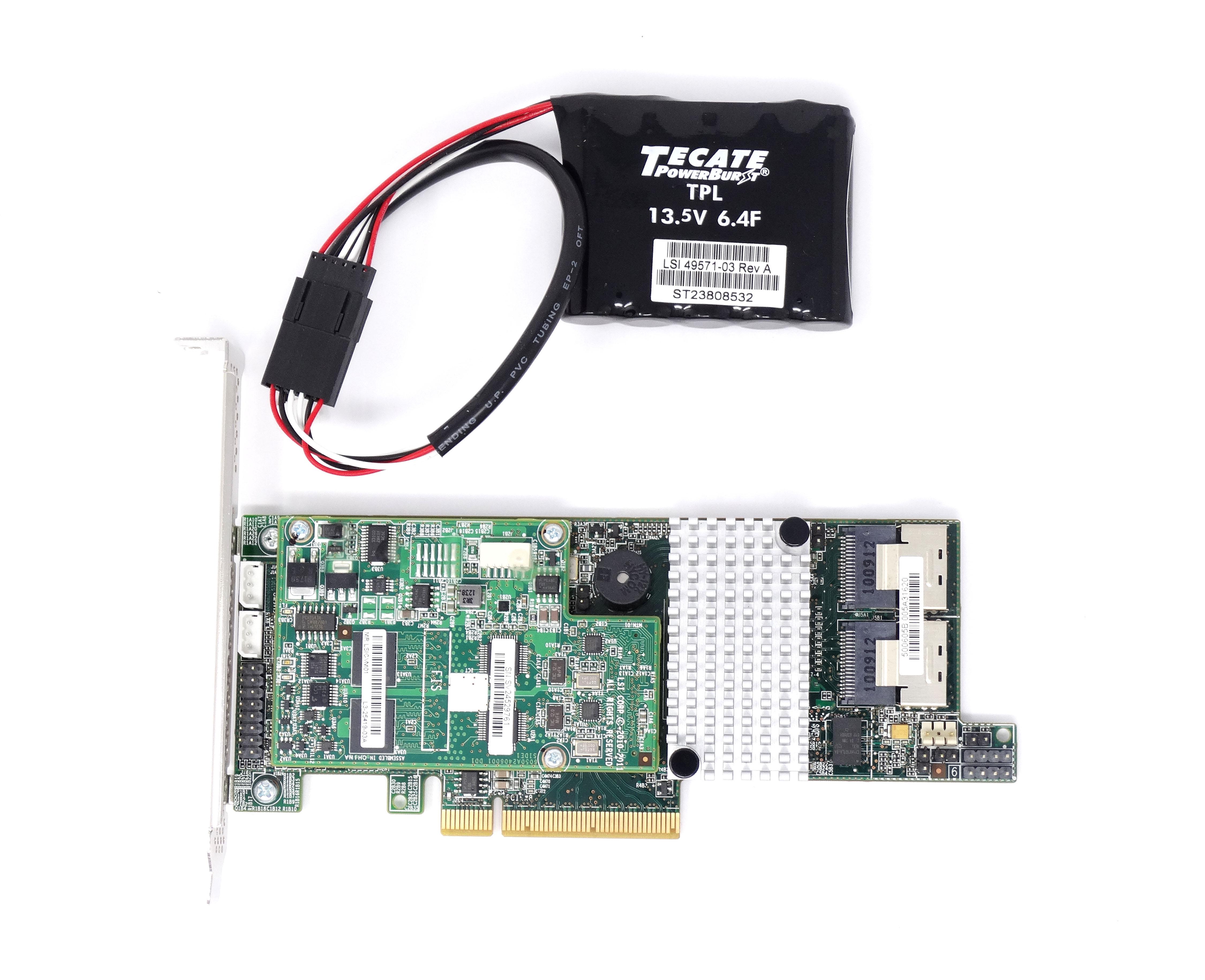LSI MR 9266-8i SAS SATA 1GB PCIe RAID Controller (L3-25413-17A)