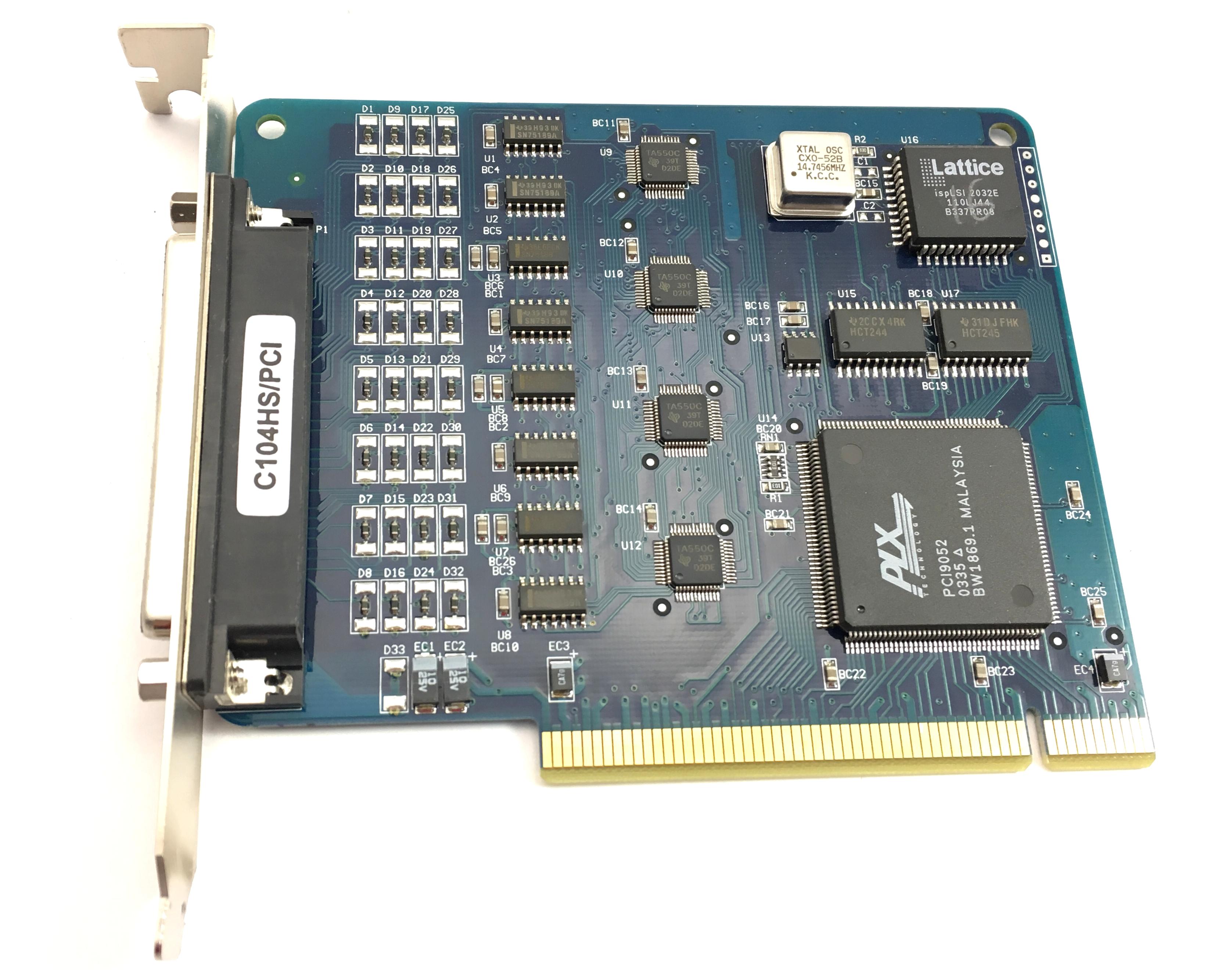 Moxa Pci Serial Board (C104HS/PCI)