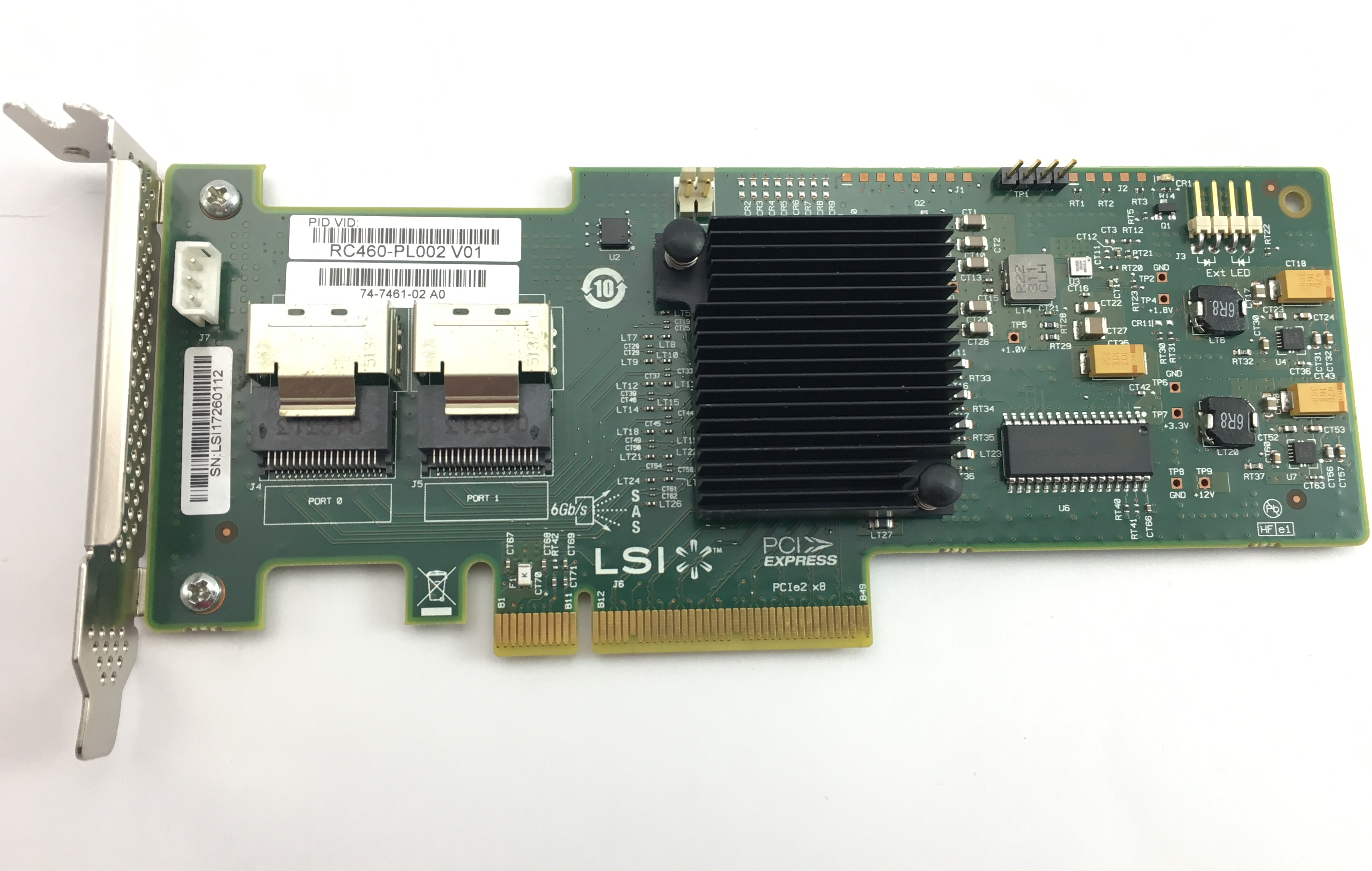CISCO UCSLSI MR SAS 9240-8I RAID CONTROLLER (RC460-PL002)