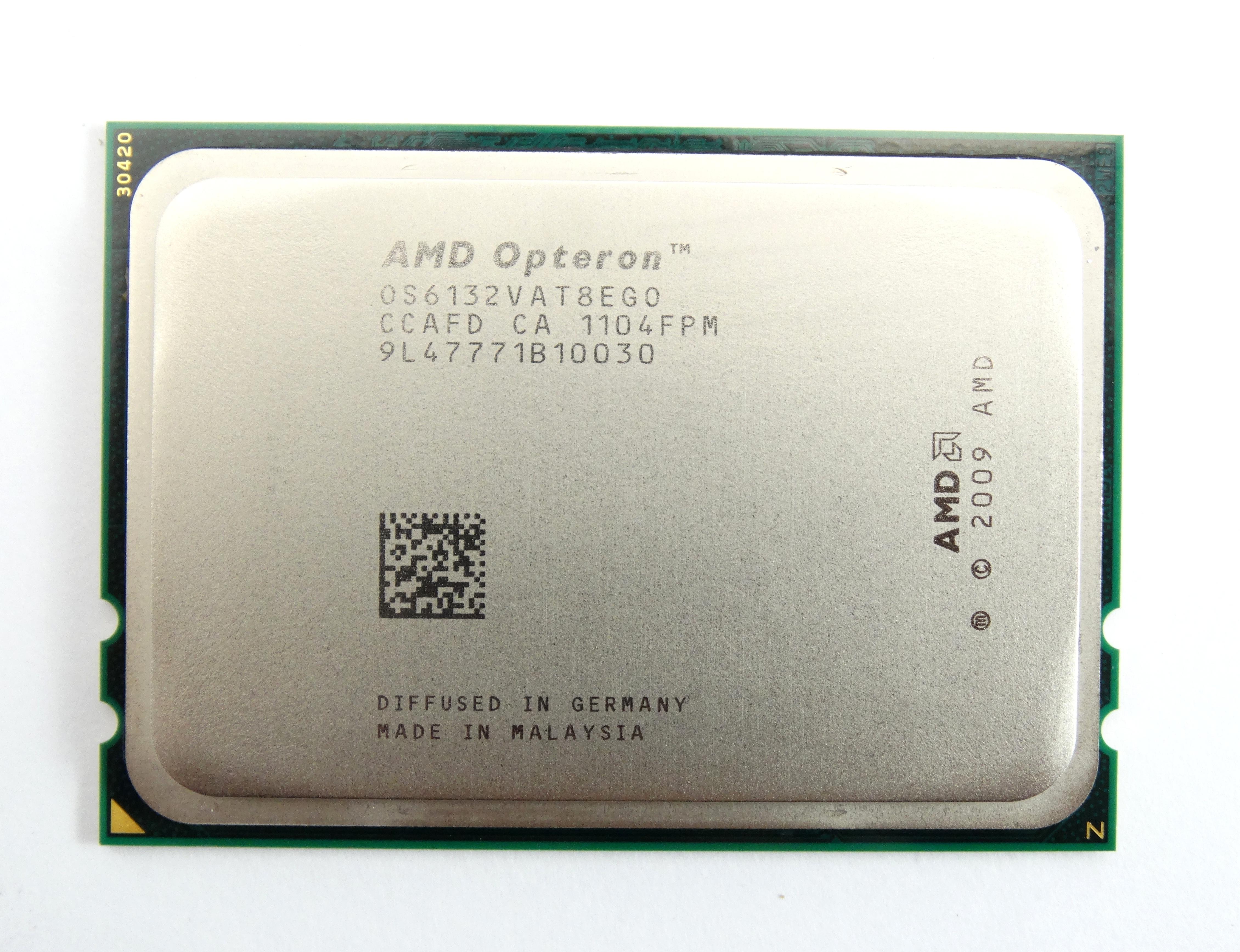 AMD Opteron 6132 2.2GHz 8Core G34 Socket Server Processor (OS6132VAT8EGO)
