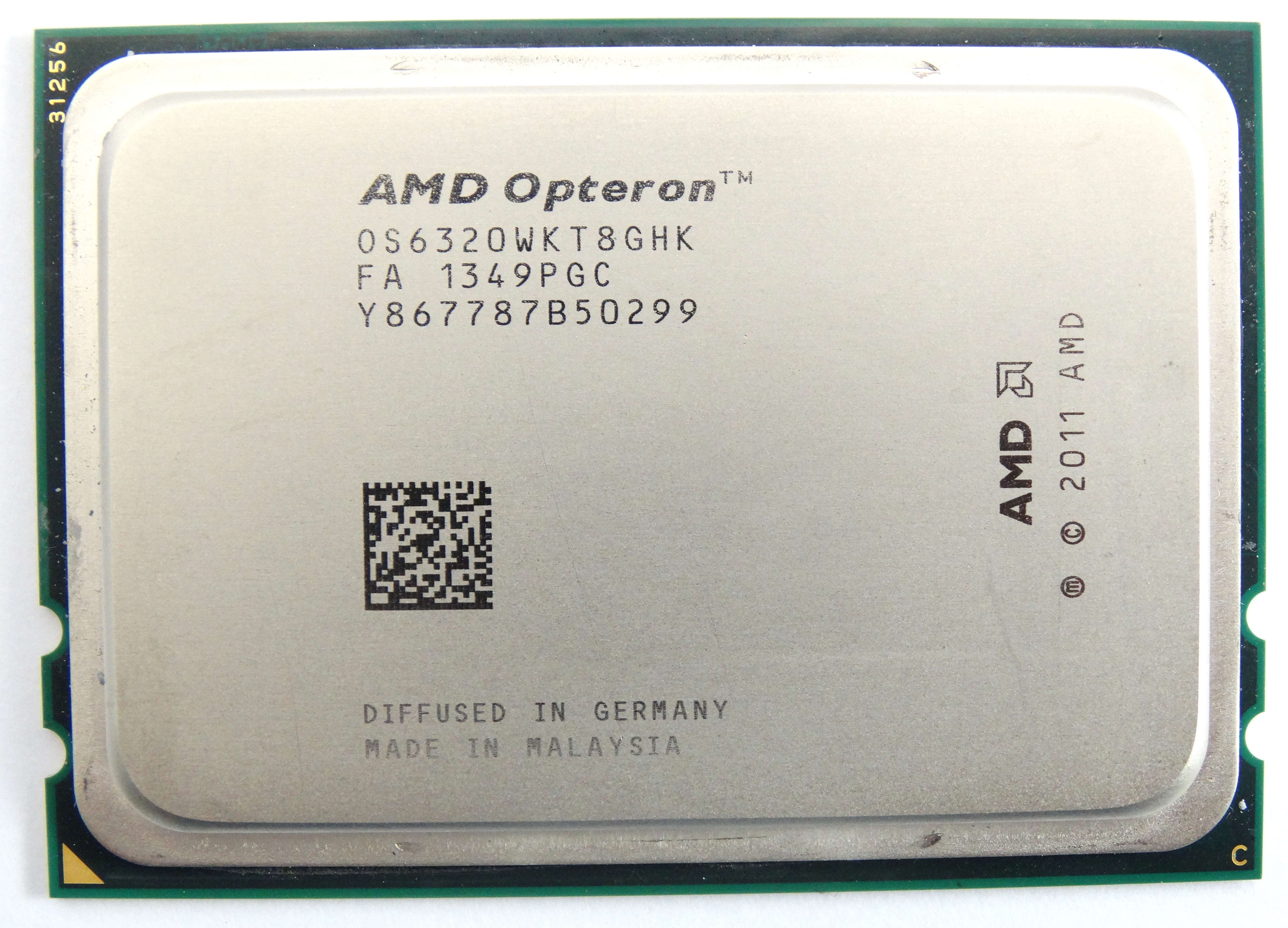 AMD Opteron 6320 2.8GHz 8Core G34 Processor (OS6320WKT8GHK)