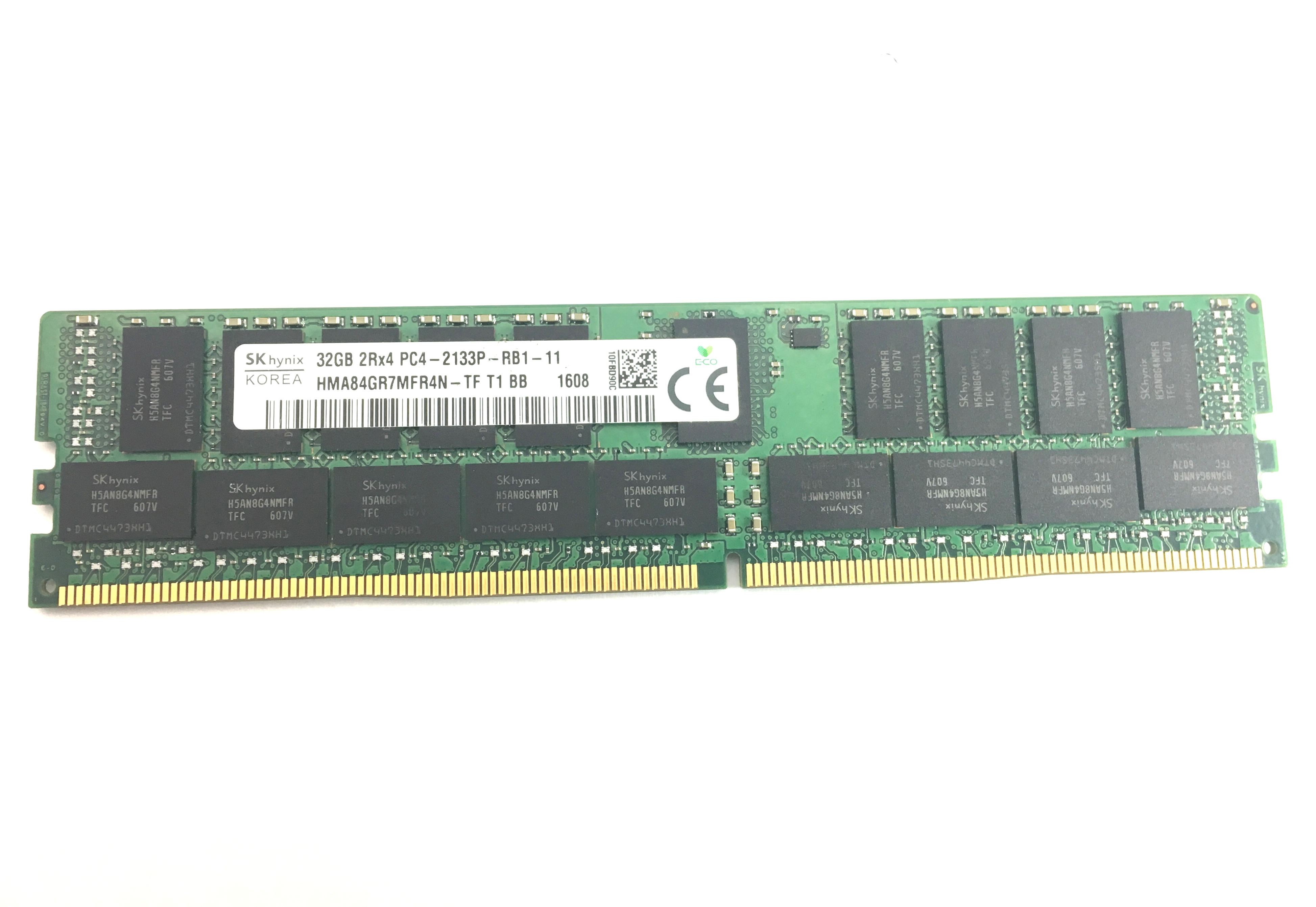 Hynix 32GB 2Rx4 DDR4 PC4 2133P ECC Registered Memory (HMA84GR7MFR4N-TF)