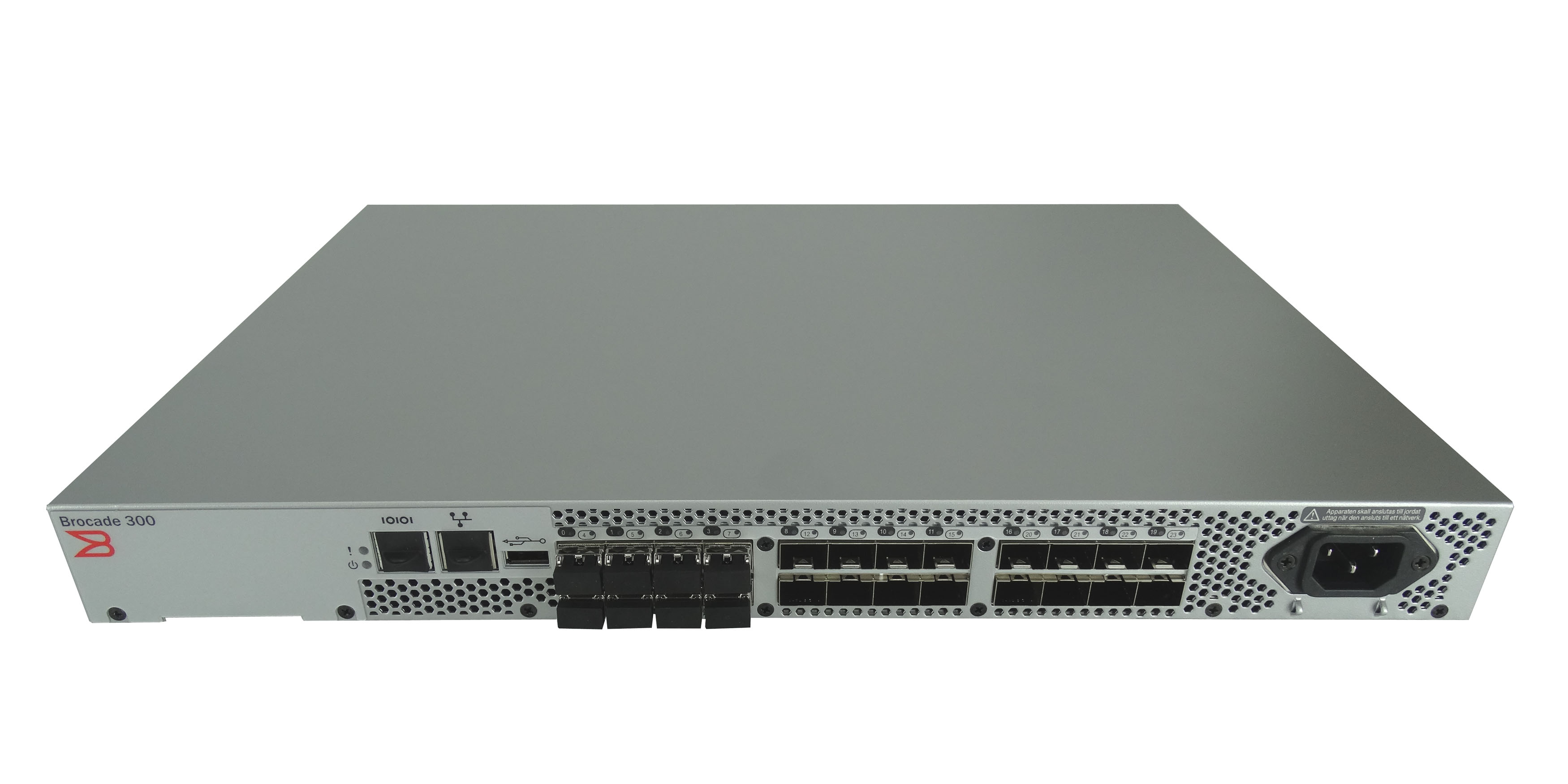 Dell Brocade 300 24 Port 8GB Fiber Channel Switch DL-320-0001 (R875F)