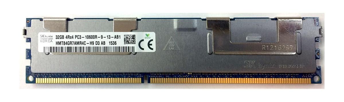 Hynix 32GB 4Rx4 PC3-10600R DDR3 ECC Registered Memory (HMT84GR7AMR4C-H9)