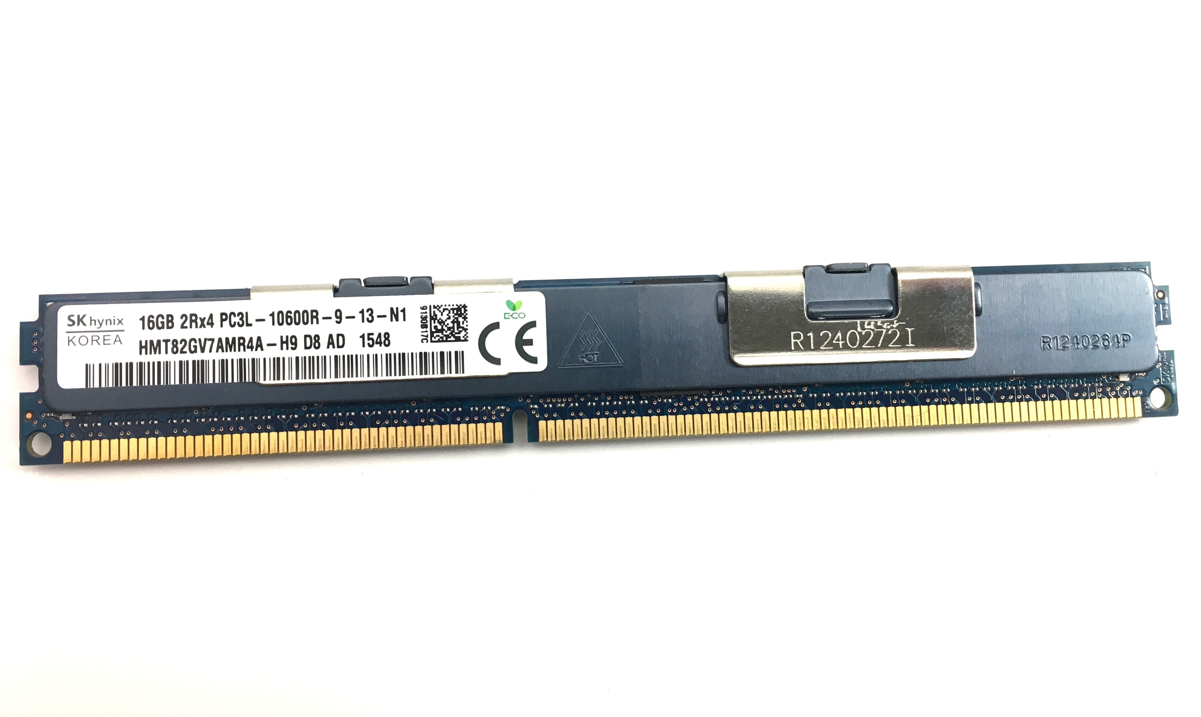 Hynix 16GB 2Rx4 PC3L-10600R DDR3 1333MHz ECC REG VLP Memory (HMT82GV7AMR4A-H9)
