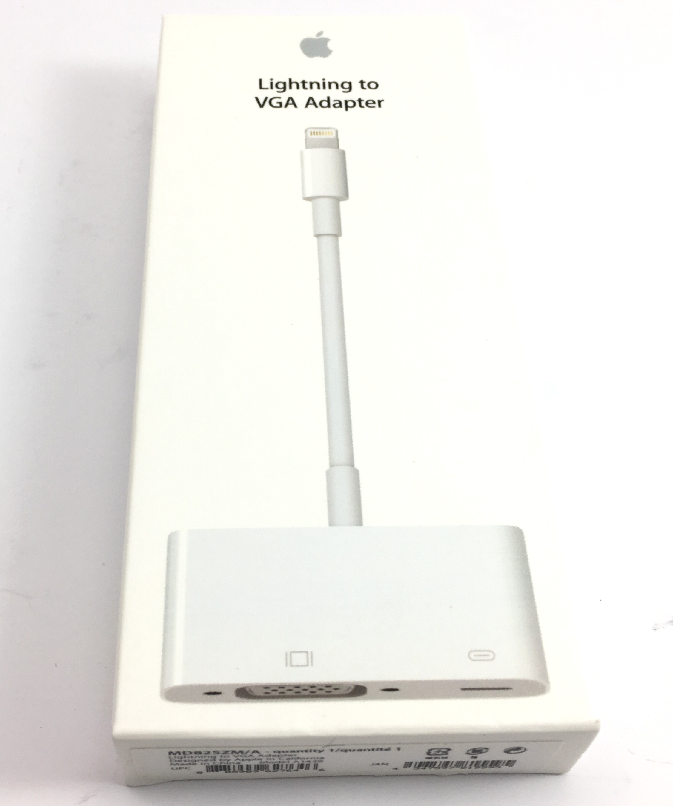 Apple Lightning To Vga Adapter (MD825ZM/A)