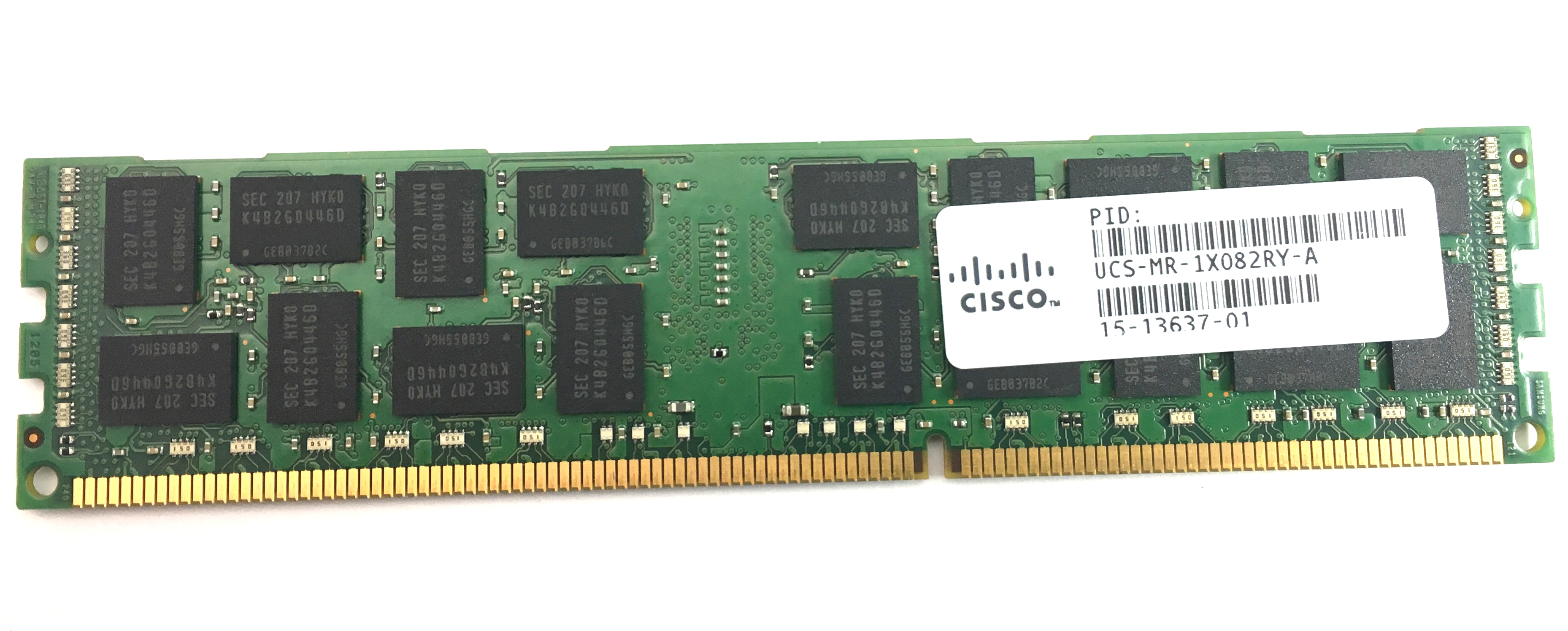 Cisco 8GB 2Rx4 PC3L 12800R DDR3 1600MHz ECC REG Memory (UCS-MR-1X082RY-A)