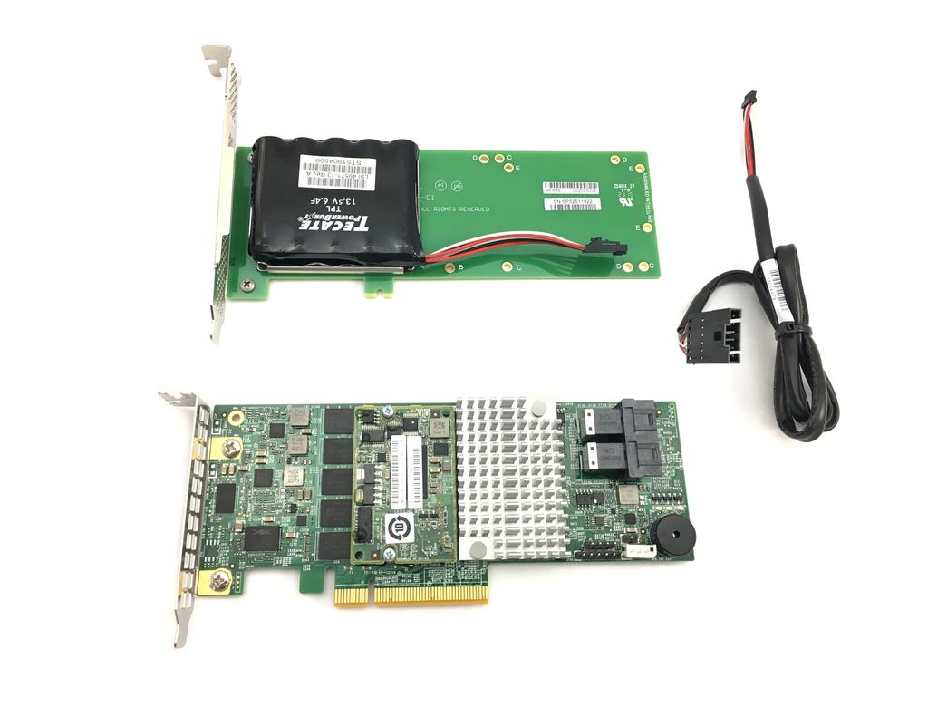 Supermicro Add-On 12Gb/s Eight-Port SAS Internal Raid Adapter Card (AOC-S3108L-H8IR-16DD)