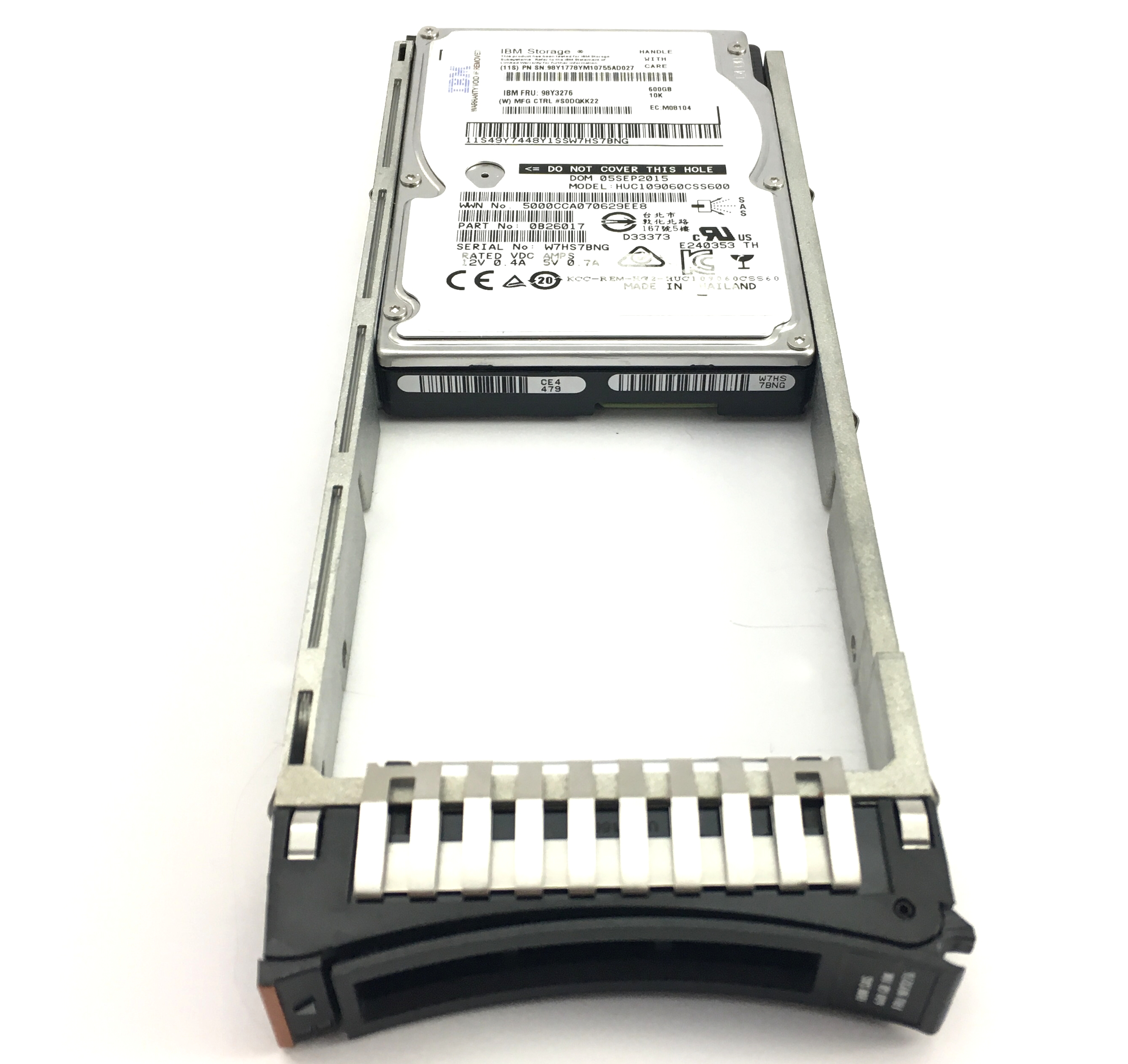 IBM 600GB 10K 6Gbps SAS 2.5'' Hard Drive (98Y3276)