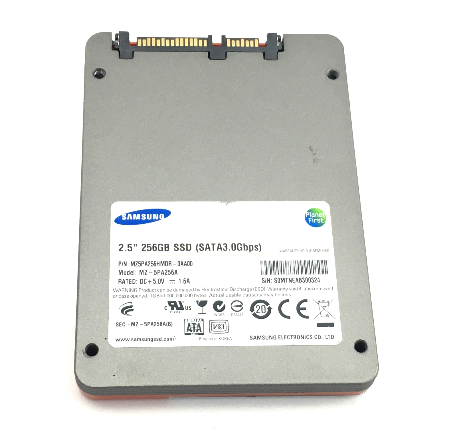 SAMSUNG 470 256GB 3GBPS SATA 2.5'' SSD SOLID STATE DRIVE (MZ5PA256HMDR-0AA00)