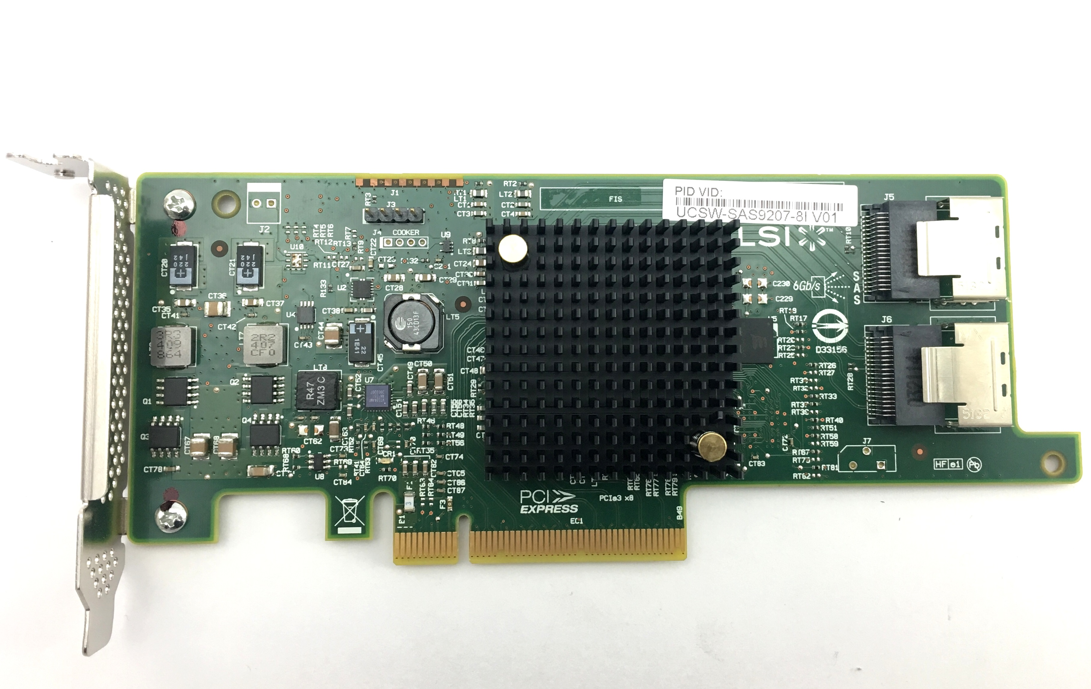 Cisco Lsi SAS 9207-8I 6Gbps PCI-E Host Bus Adapter (UCSW-SAS9207-8I)