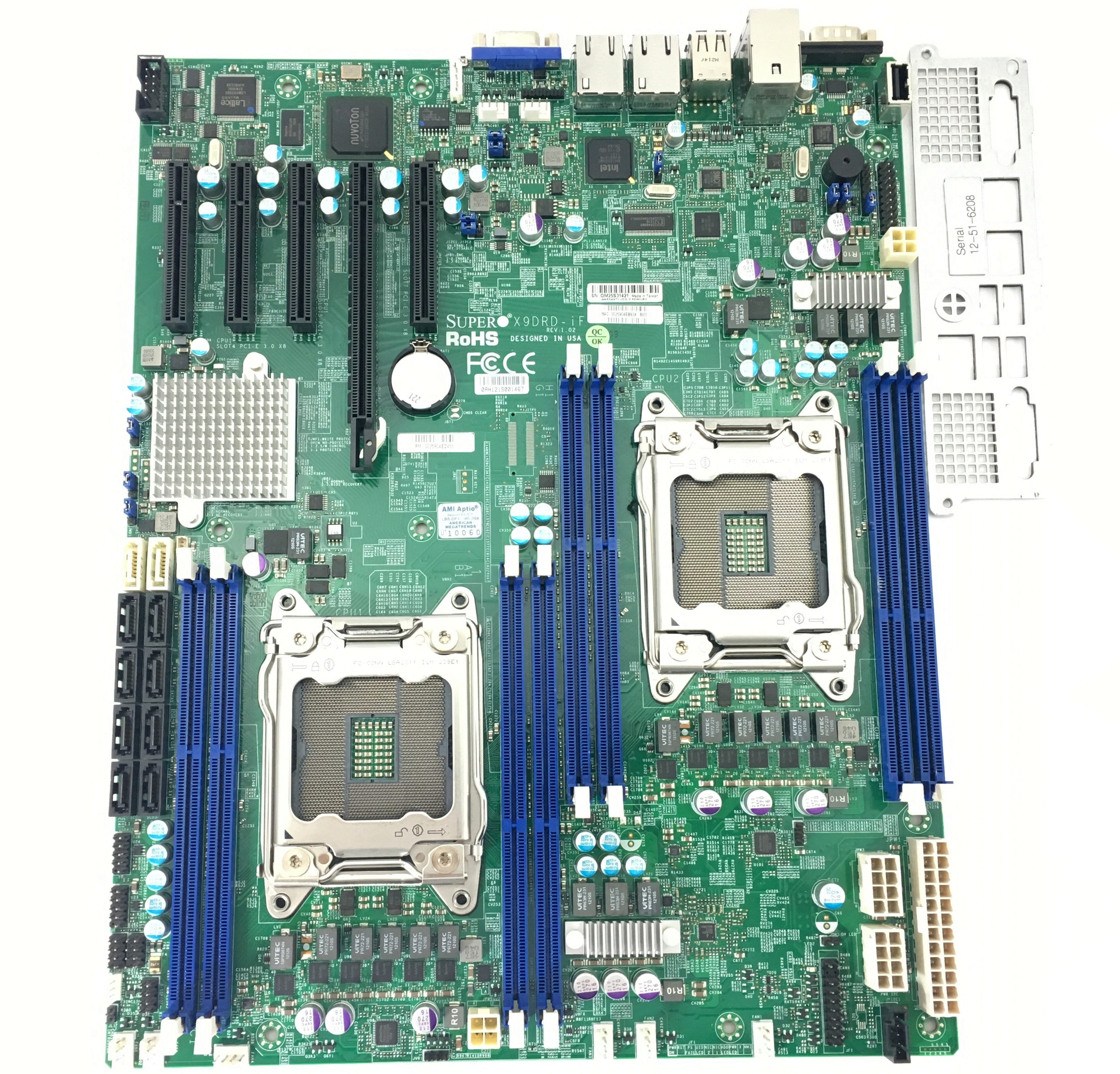 Supermicro Xeon EATX Dual Socket LGA2011 Mother Board (X9DRD-IF)