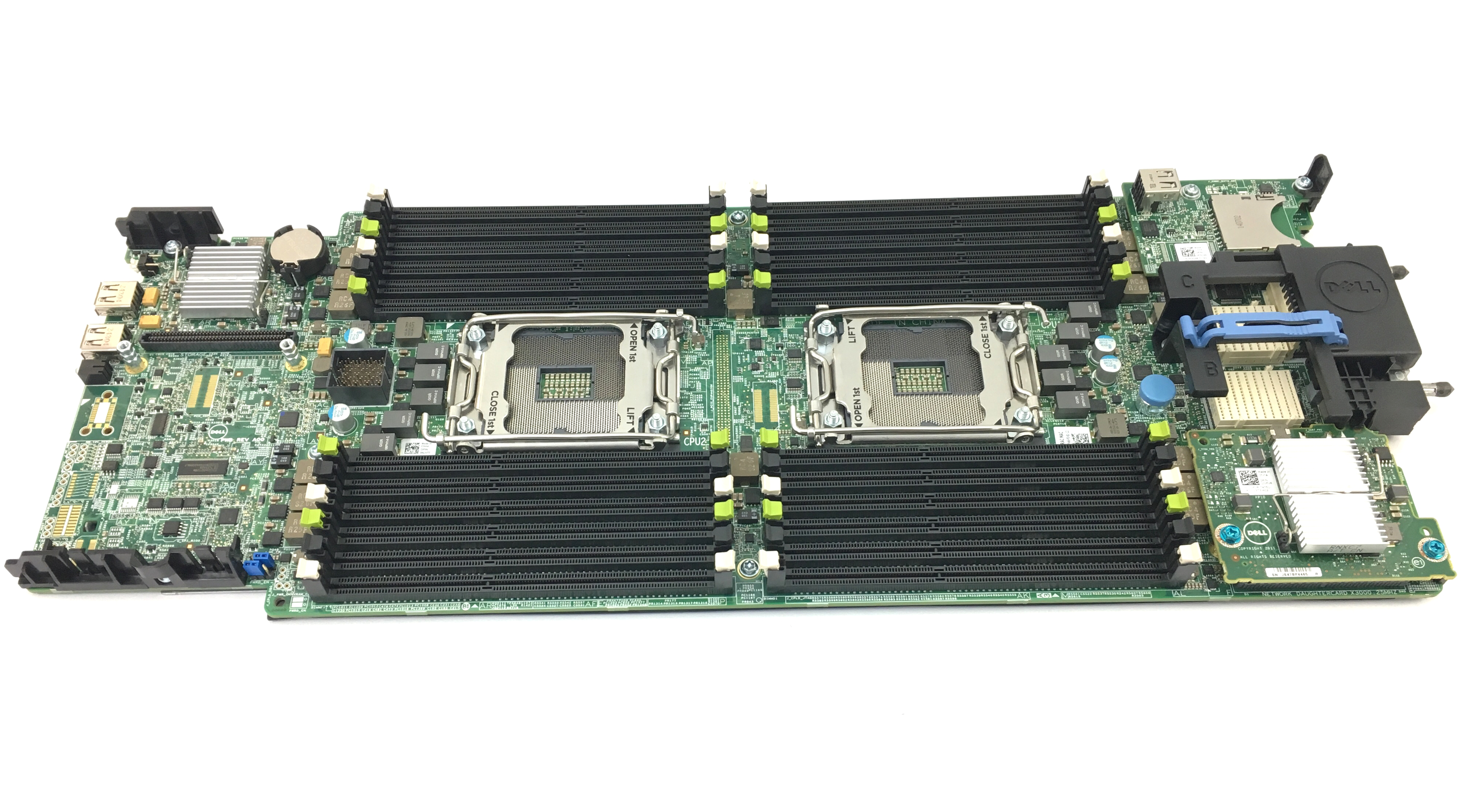 Dell PowerEdge M620 Blade Server System Board (NJVT7)