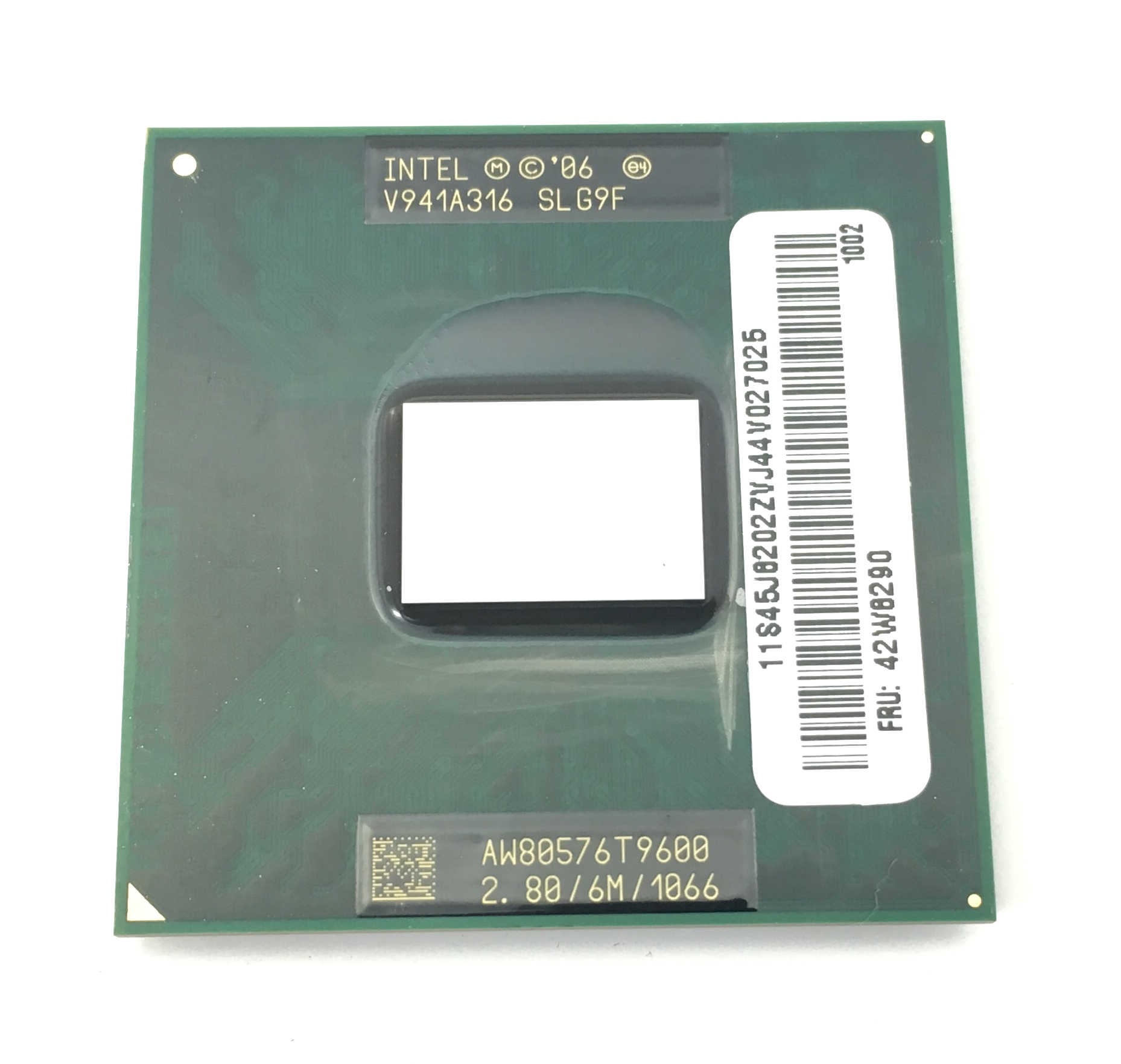 IBM Intel Core 2 Duo T9600 2.80GHz 6MB 1066MHz Pga478 Processor (42W8290)