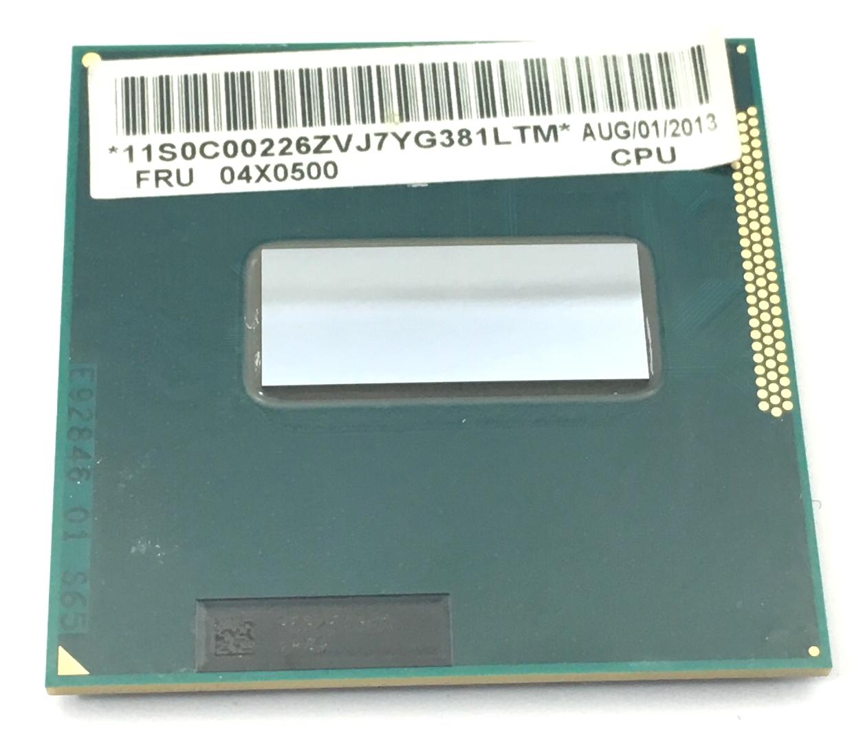 IBM Intel I7-3840Qm 2.8GHz 4Core 8Mb Pga988 Processor (04X0500)