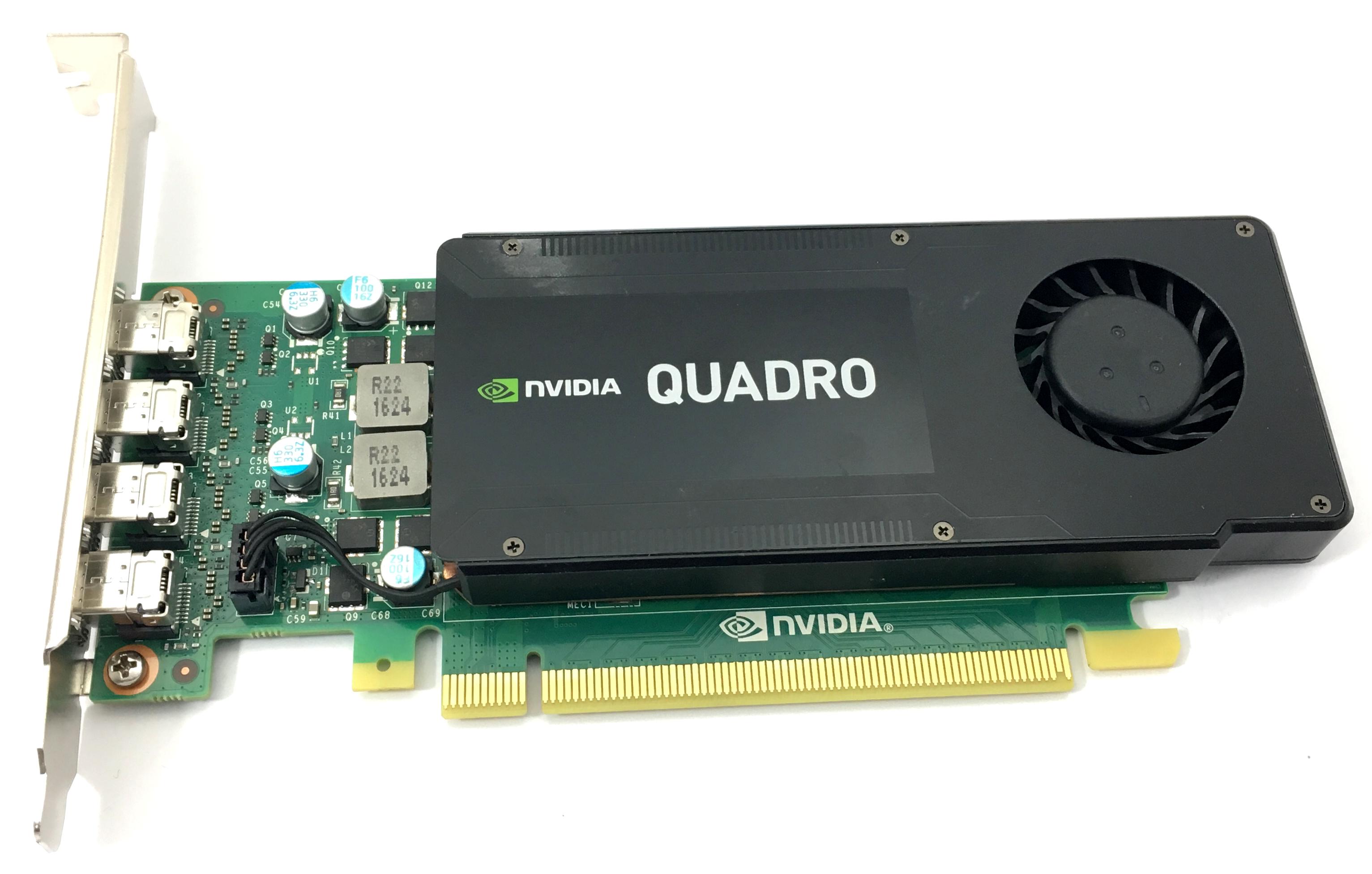 DELL NVIDIA QUADRO K1200 4GB GDDR5 GRAPHICS CARD (WHT93)