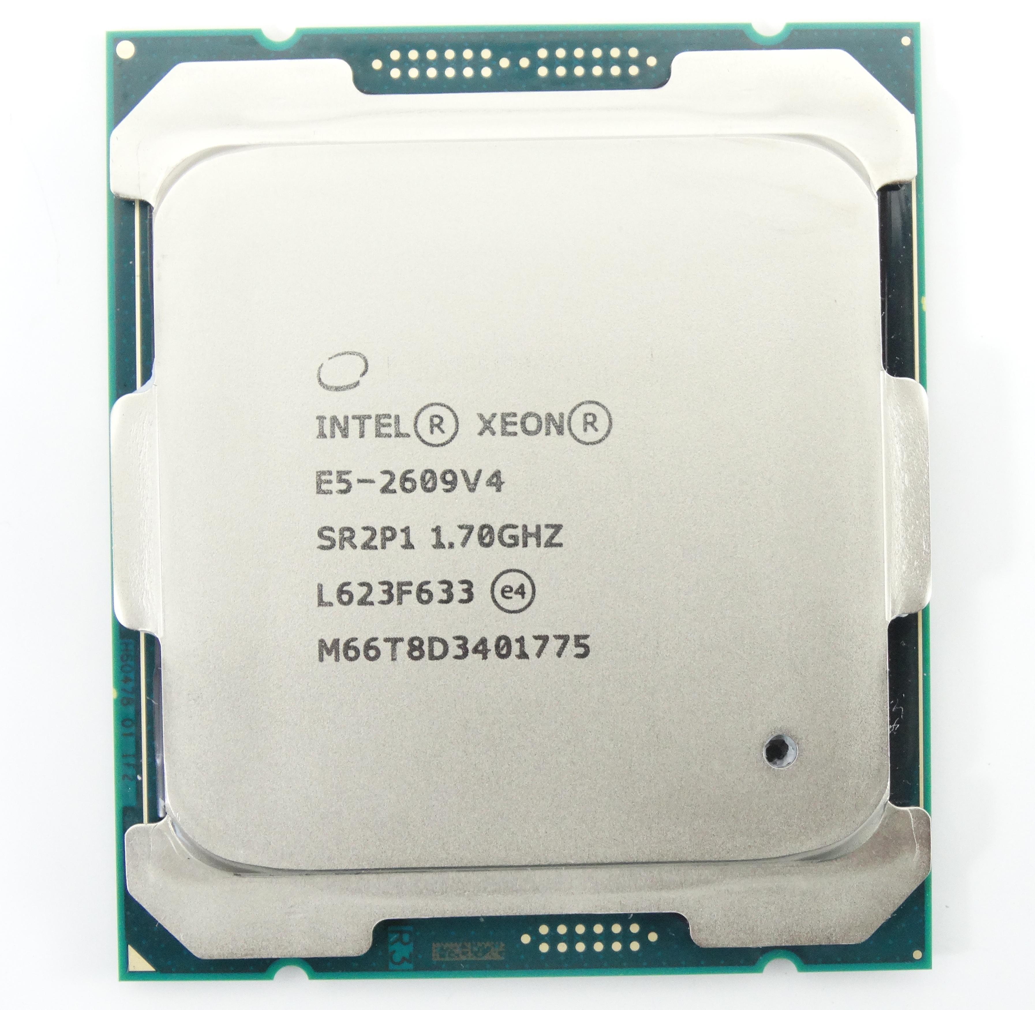 INTEL XEON E5-2609 V4 1.70GHZ 8CORE 20MB LGA2011-3 PROCESSOR (SR2P1)