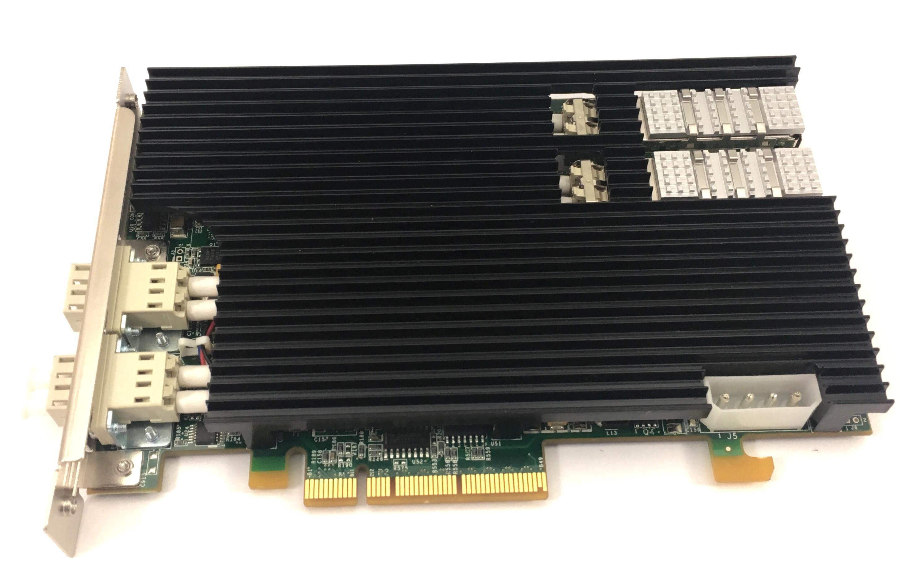 Riverbed 10Gbe Dual Port Sr Multimode Fiber PCI-E Nic Card (410-00302-01)