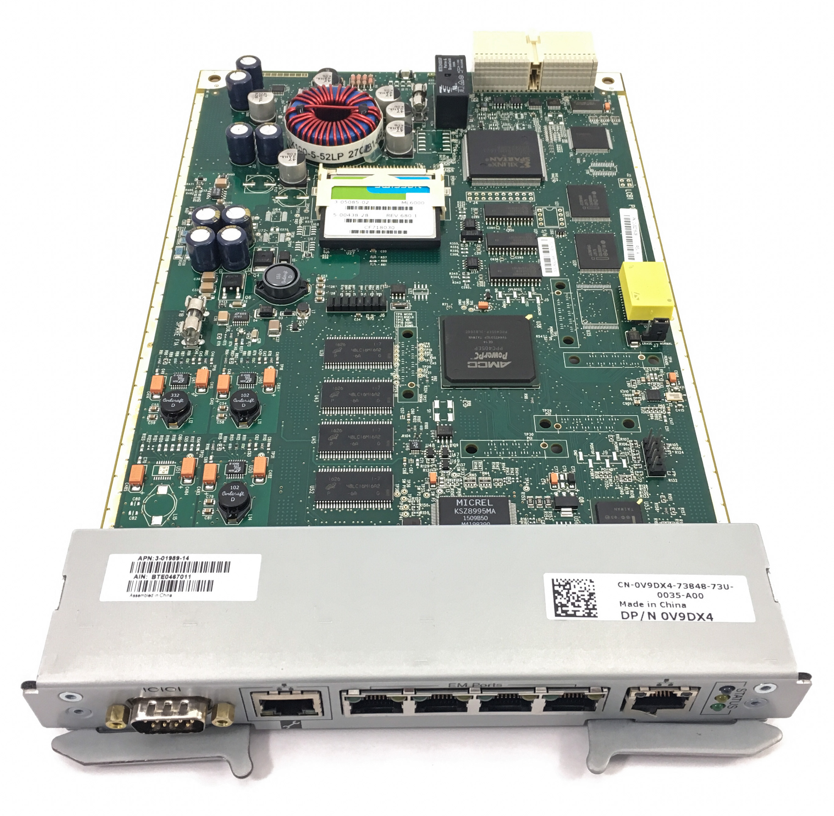 Dell Powervault Ml6000 Tape Library Controller Card (V9DX4)