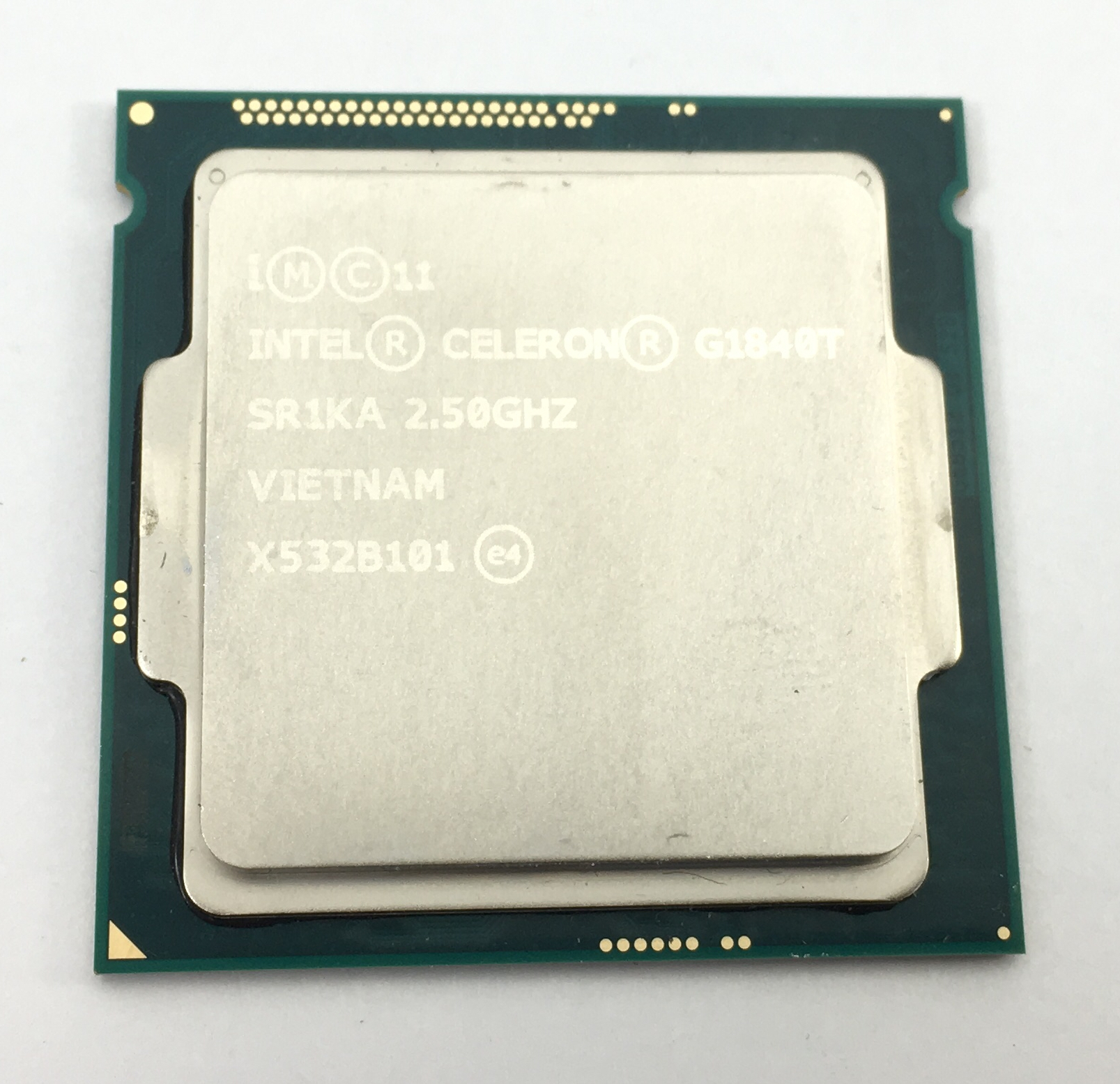 Intel Celeron G1840T Dual Core 2.5GHz 2MB LGA1150 Processor (SR1KA)