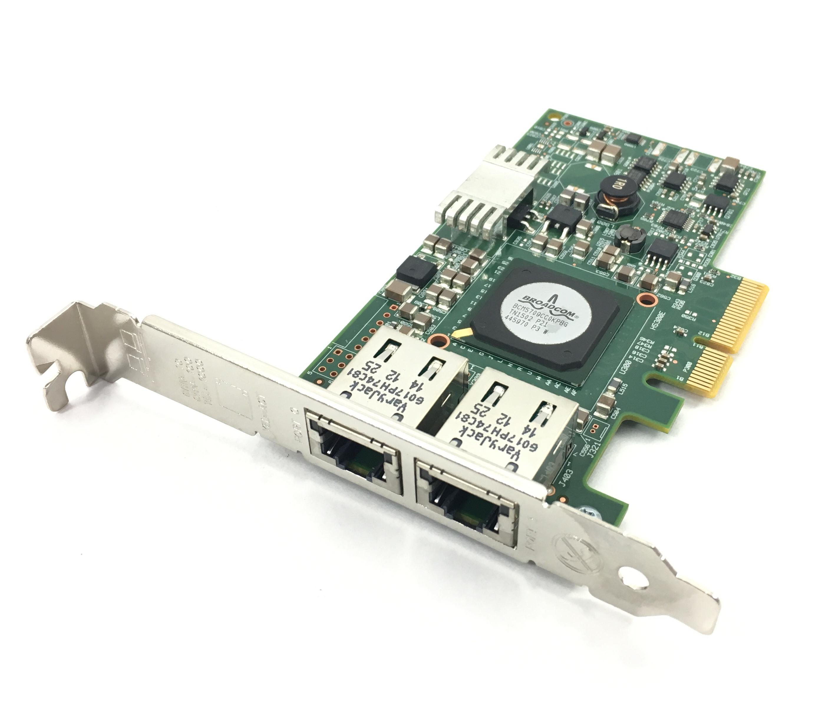 Cisco Broadcom 5709 Dual-Port Ethernet PCI-E Adpater For M3 Server (N2XX-ABPCI01-M3)