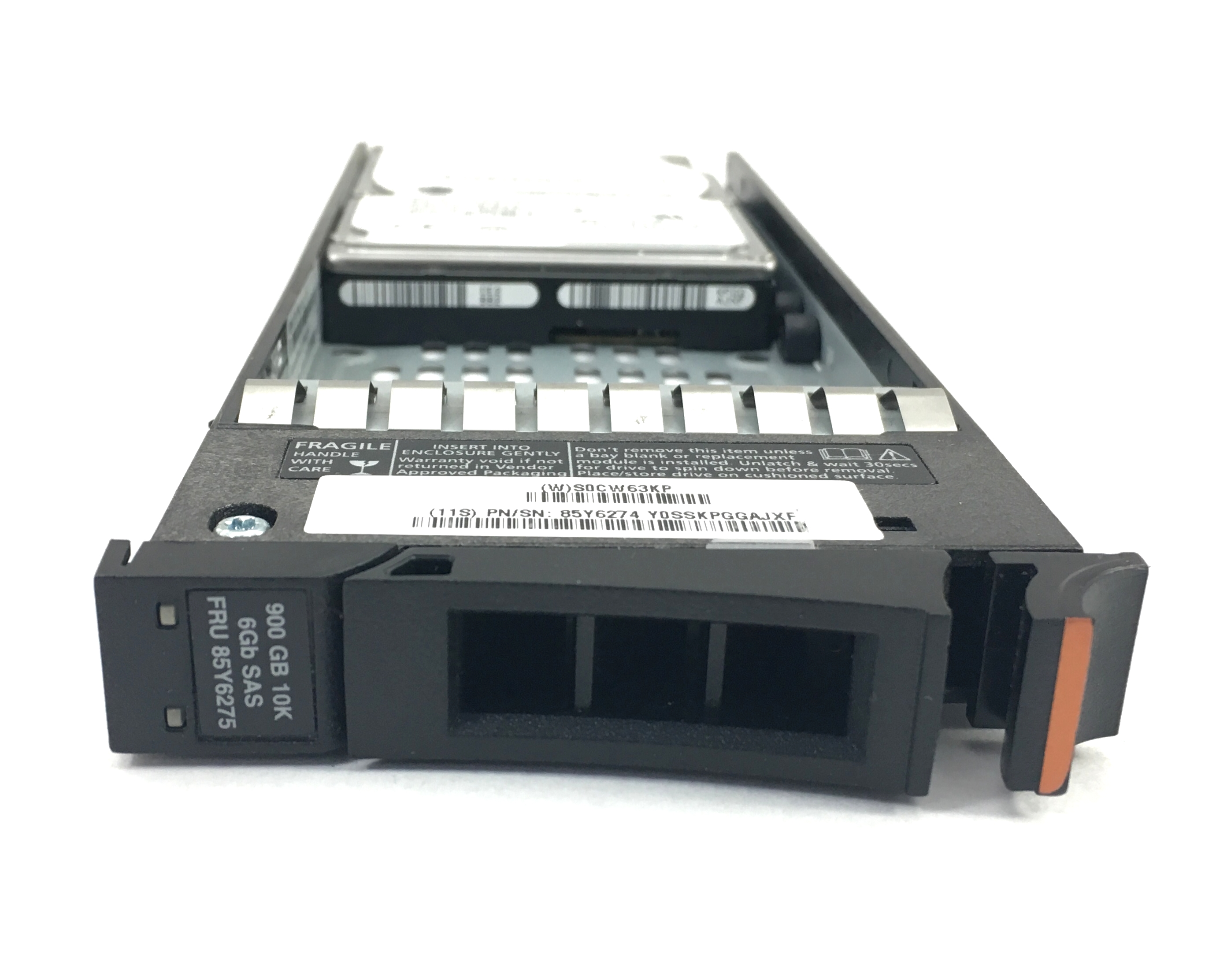 IBM V7000 900GB 10K SAS 2.5'' HDD HARD DRIVE (85Y6275)