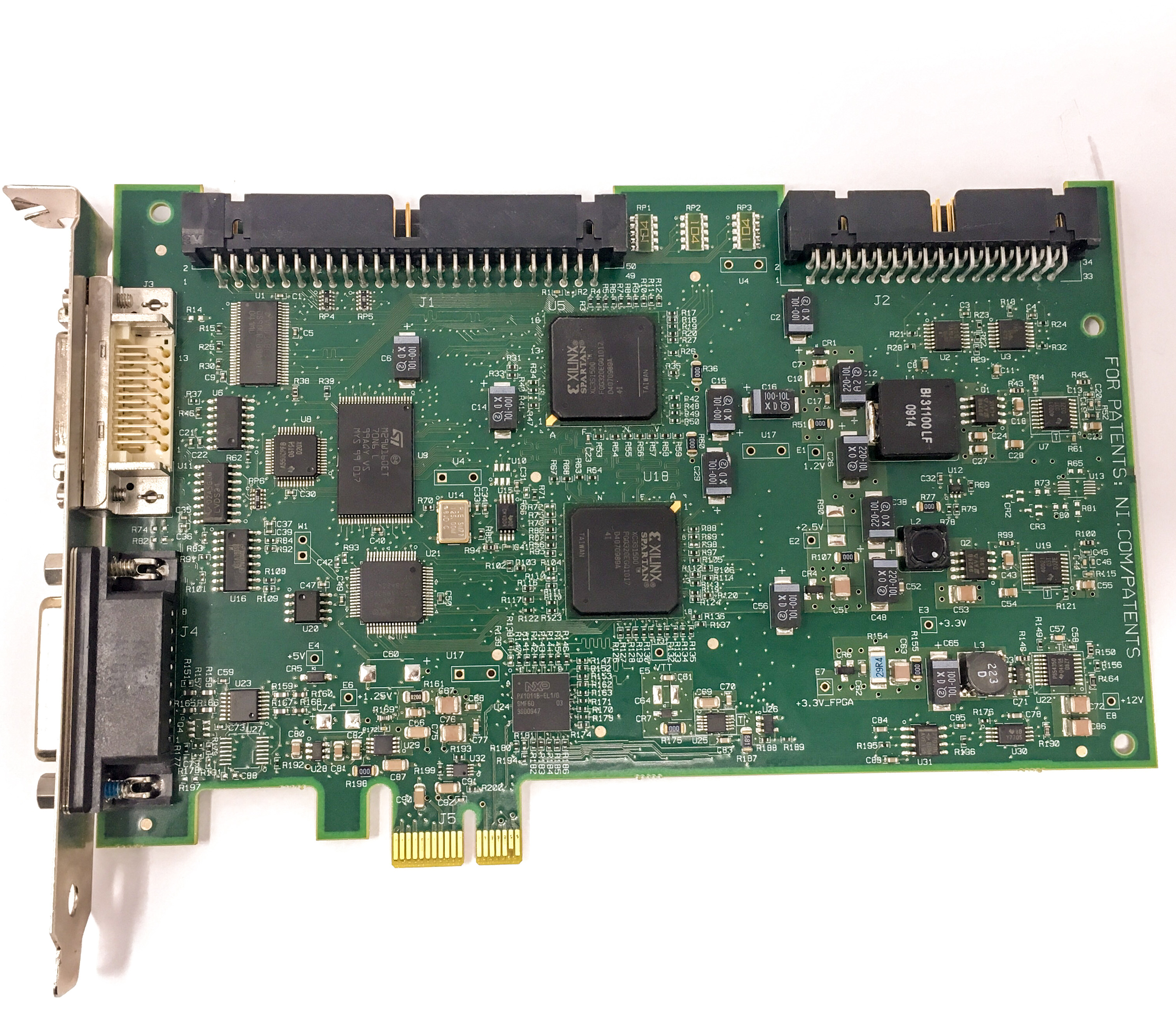 National Instruments PCIe-1427 IMAQ Camera Link Video Frame Grabber ...