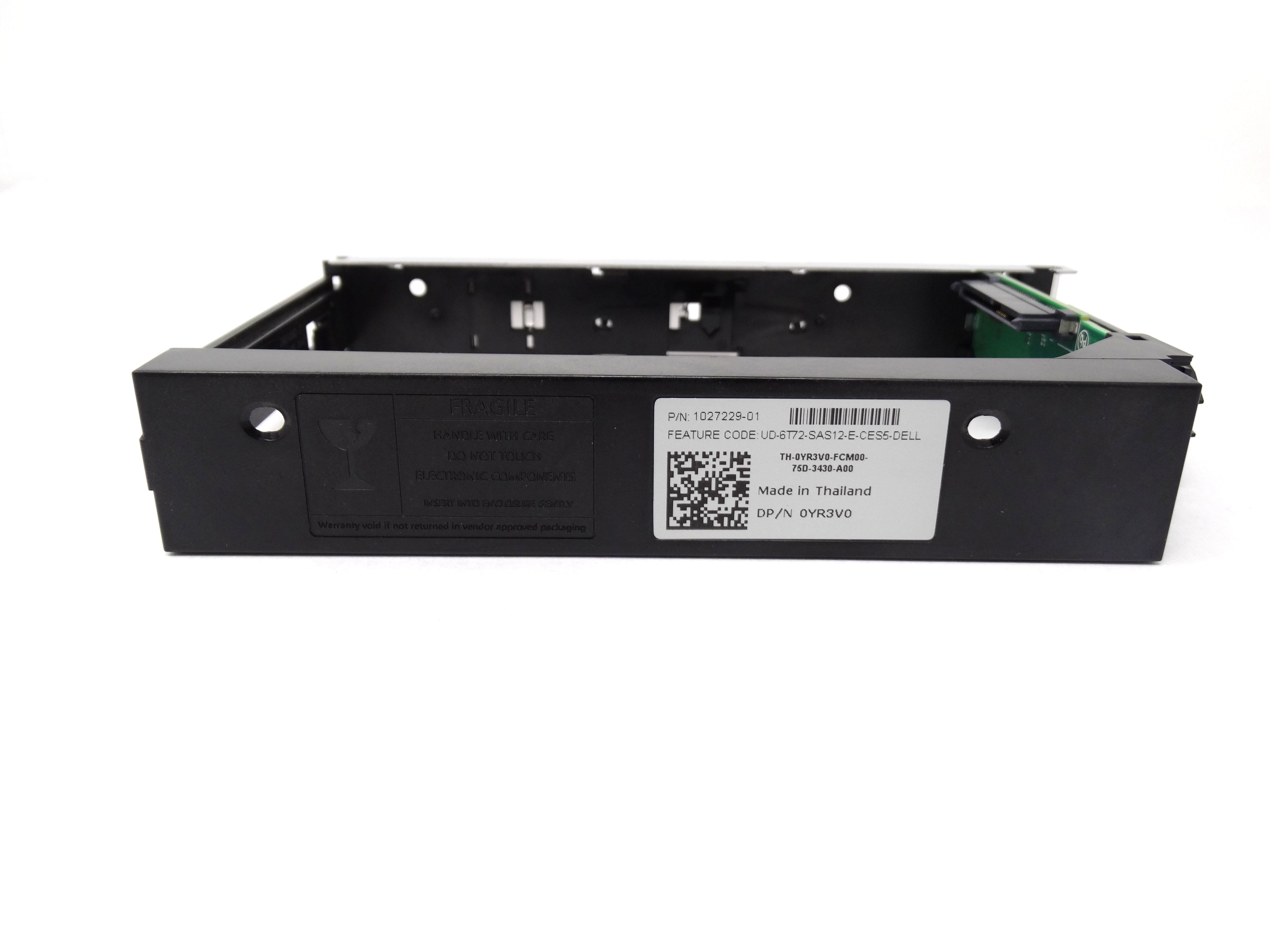 Dell Compellent SC280 / SC180 LFF 3 5'' Drive Caddy Tray HGV5J (1027229-01)