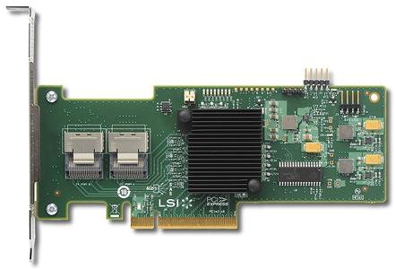 Dell LSI 9210-8I 8-Port 6Gbps SAS SATA RAID Controller (GKPW4)
