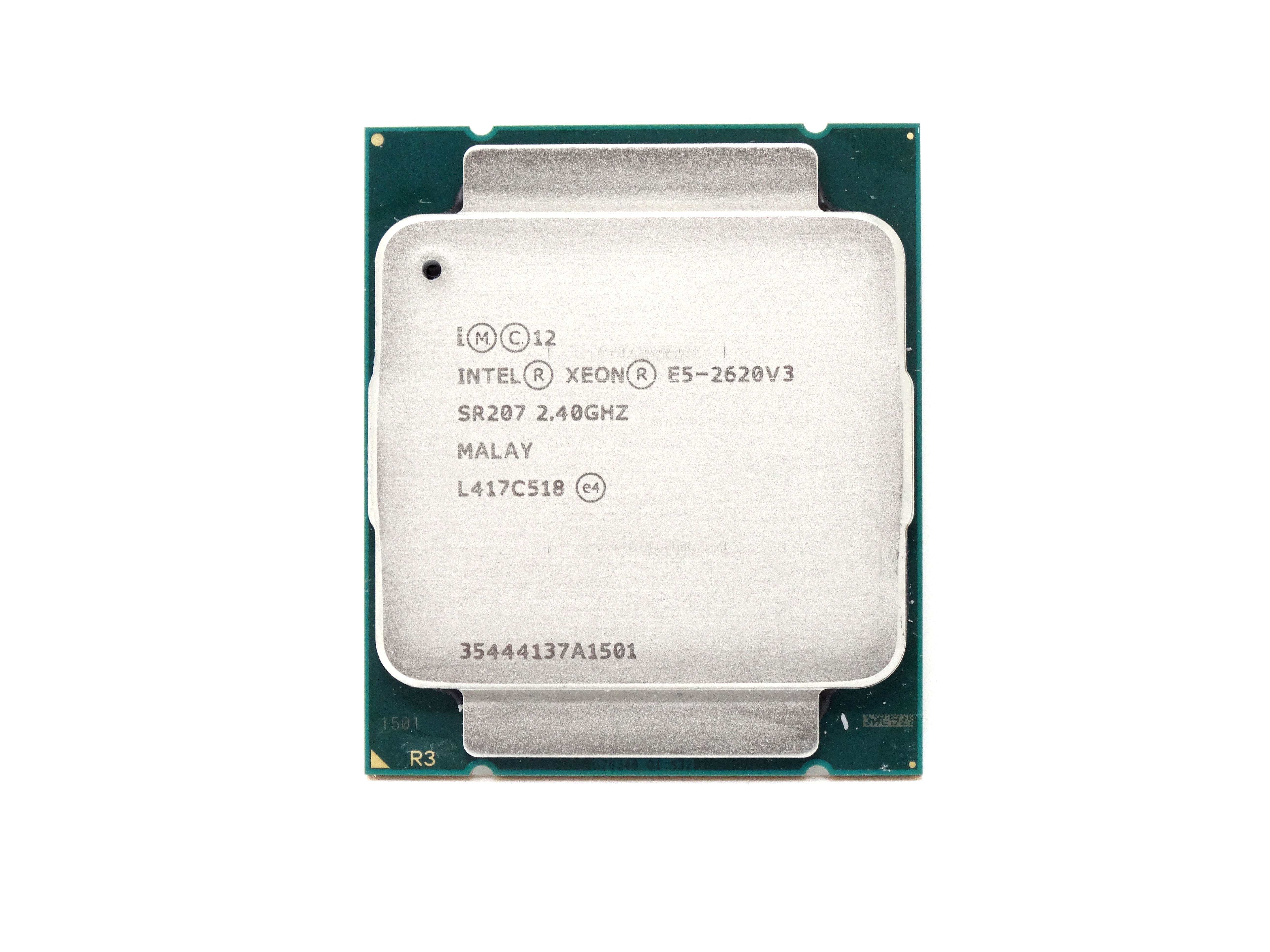 - CPU Only Intel Xeon E5-2620 v3 2.4GHz 6 Core 15MB LGA2011 CPU Processor (719051-B21 - CPU ONLY)