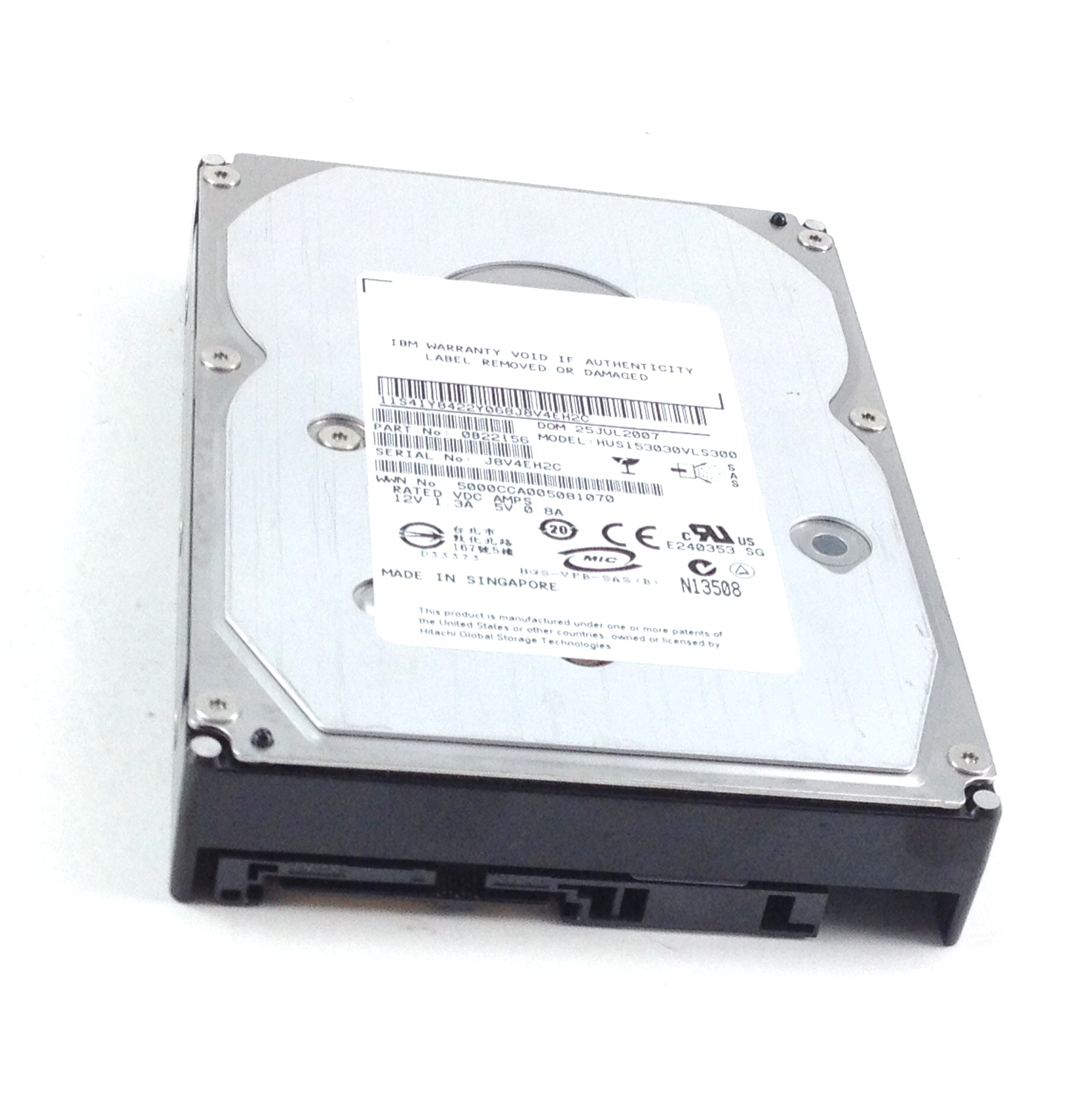 IBM 300GB 15K SAS 3.5'' Hard Drive (41Y8422)