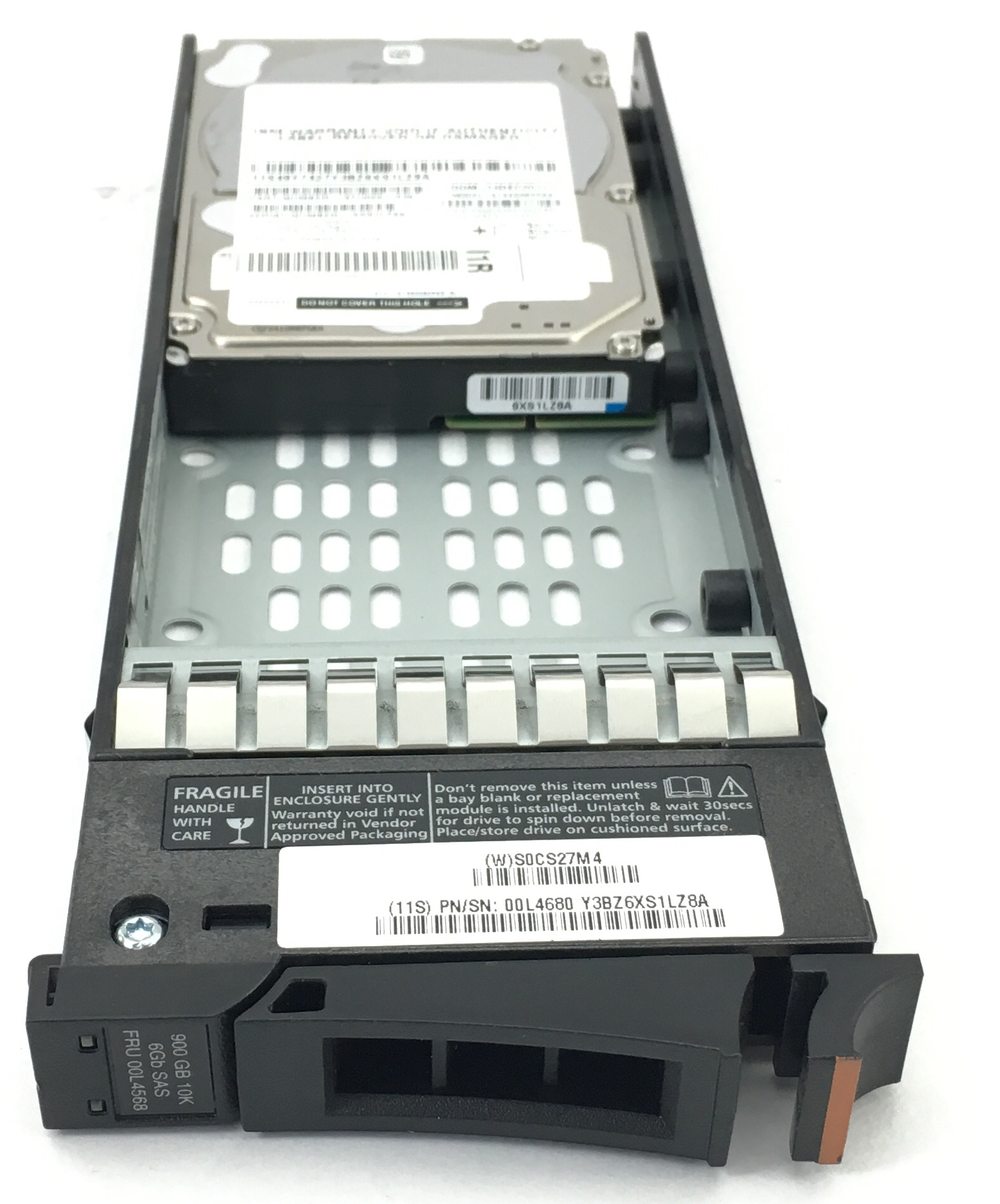 IBM 900GB 10K 6GB SAS 2.5'' HARD DRIVE (00L4568)