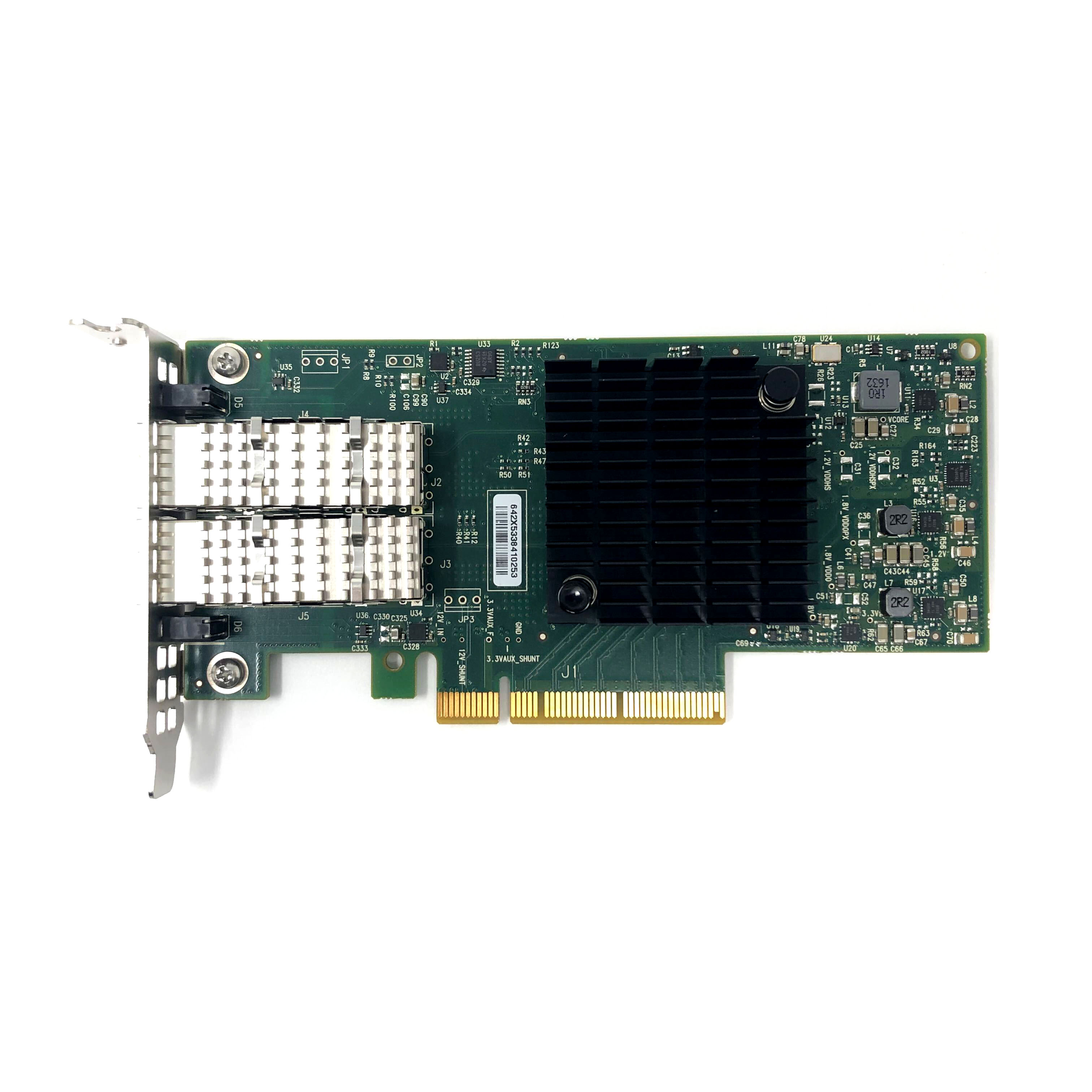 Dell ConnectX-4 CX4121C 25GbE SFP28 Dual Port PCIe Network Card Low Profile (OEM-MCX4121A-ACAT)